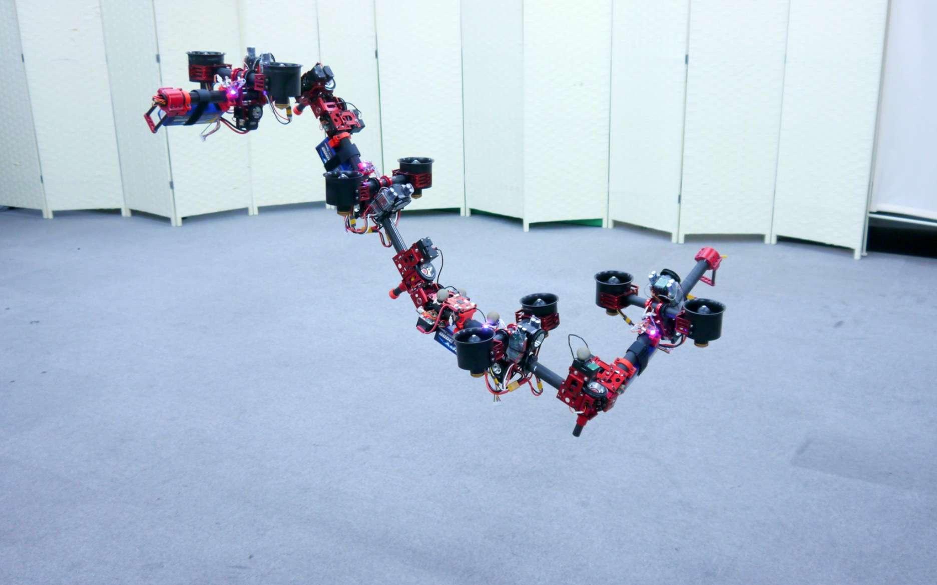 Ce robot dragon se transforme en vol. © IEEE Spectrum