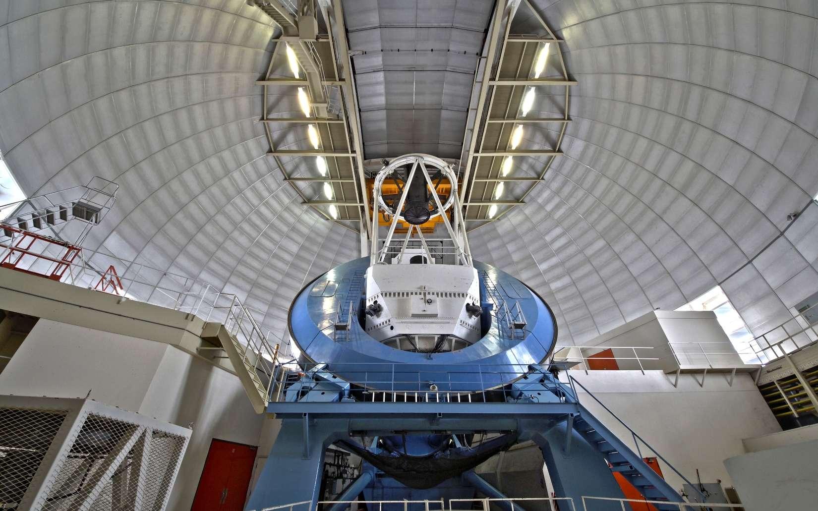 Une vue du télescope utilisé pour la mission Desi. © 2018 Dark Energy Spectroscopic Instrument