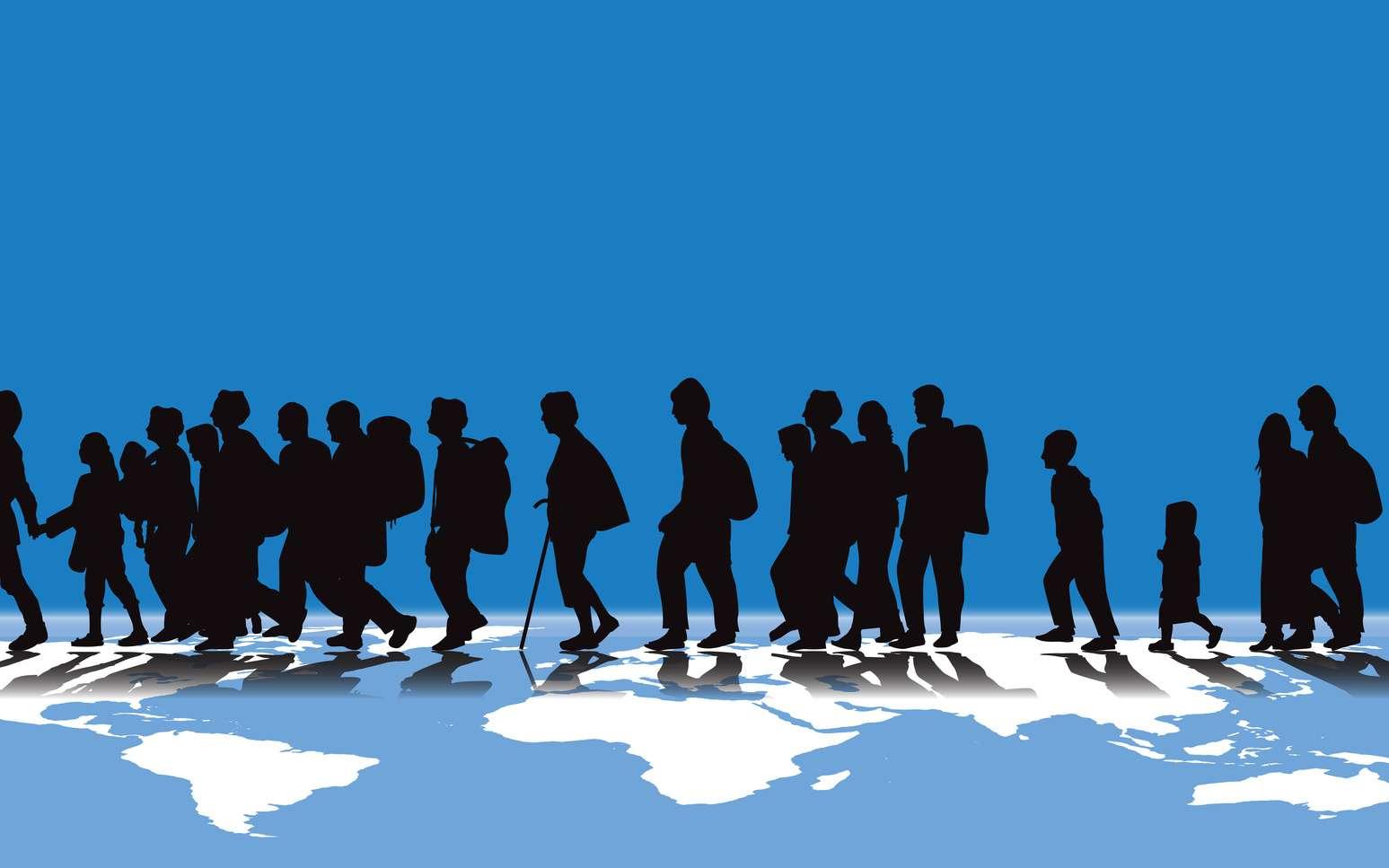 Les déplacements record de populations à travers le monde. © carlosgardel, Fotolia
