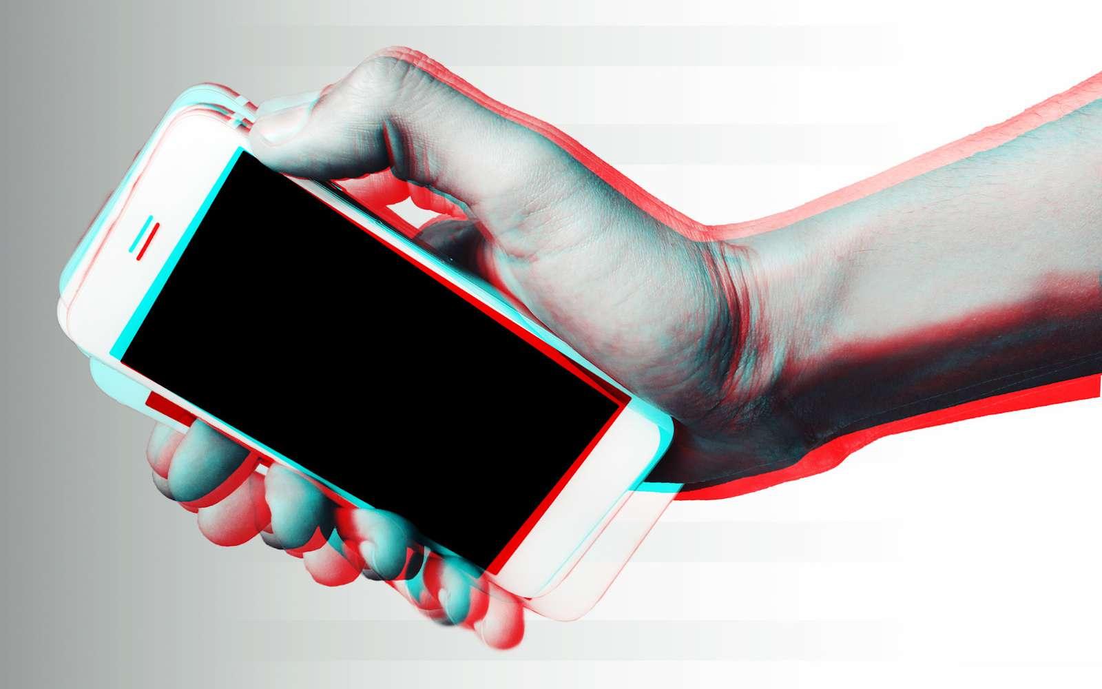 L'accéléromètre du smartphone sert à mesurer le sens et l'ampleur du déplacement dans les trois plans. © Morocko, Fotolia
