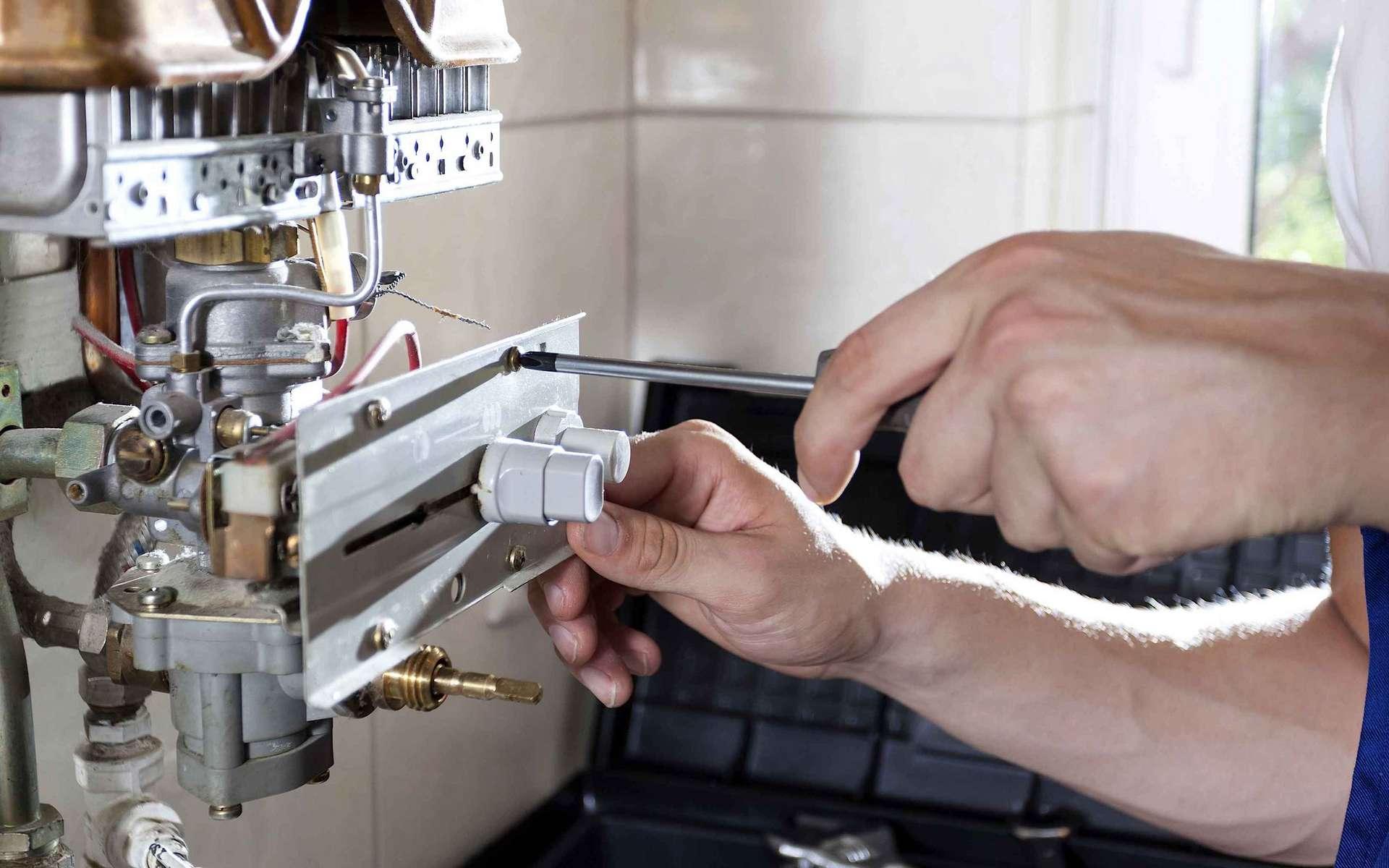 L'entretien annuel d'une chaudière gaz est une obligation pour l'occupant des lieux. © Di Giusto (Mulhouse)