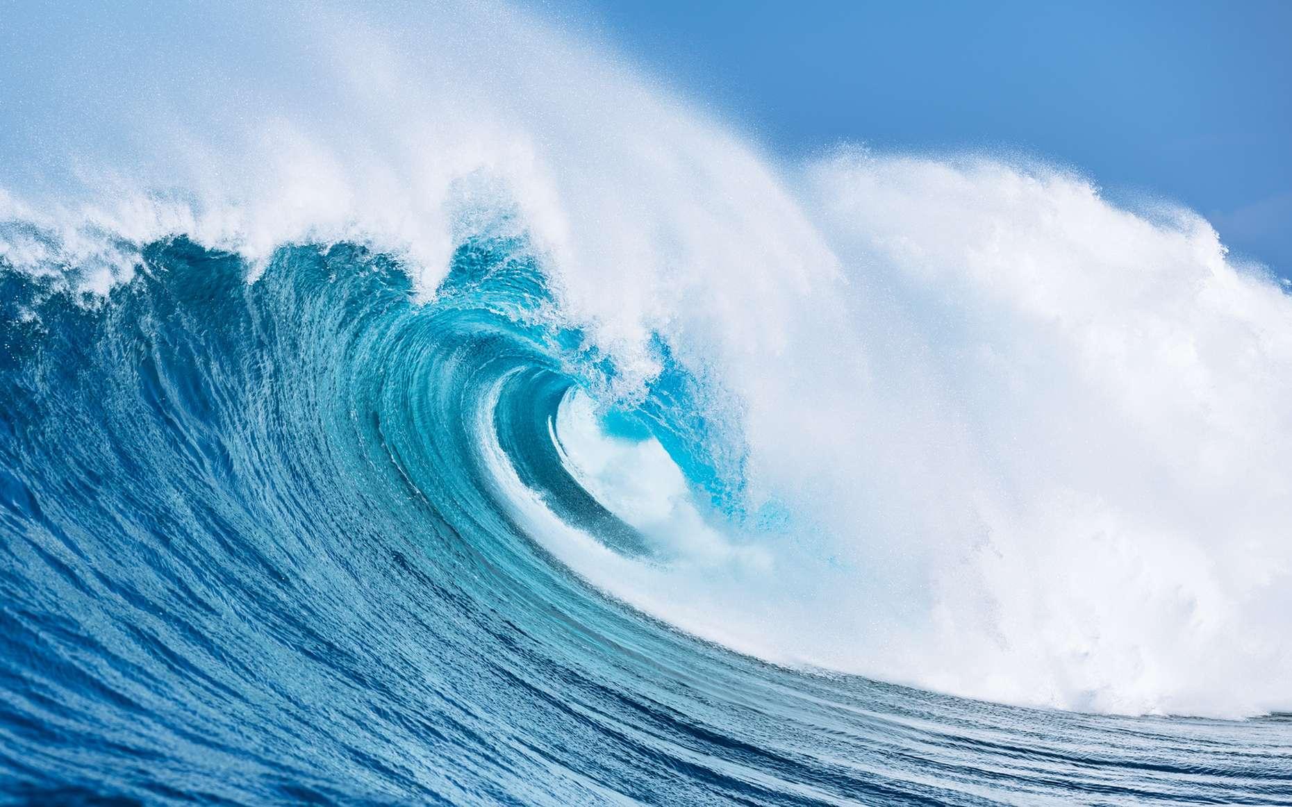 La vague de Belharra fait le bonheur des surfeurs dans le Pays basque. Si elle est très rare, cette année est s'est déjà formée le 8 janvier 2014. © EpicStockMedia, Fotolia