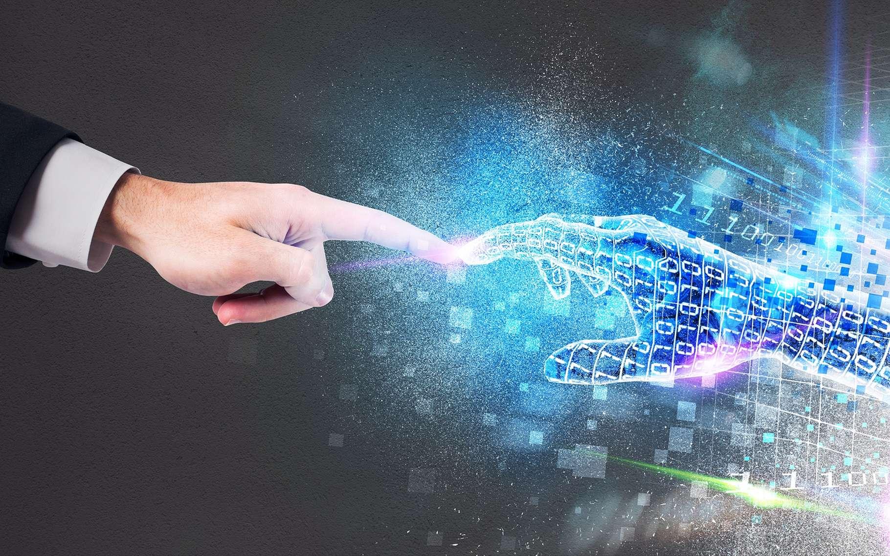 Les futures mains virtuelles de Microsoft permettront-elles de manipuler n'importe quelle interface ? © alphaspirit, Shutterstock
