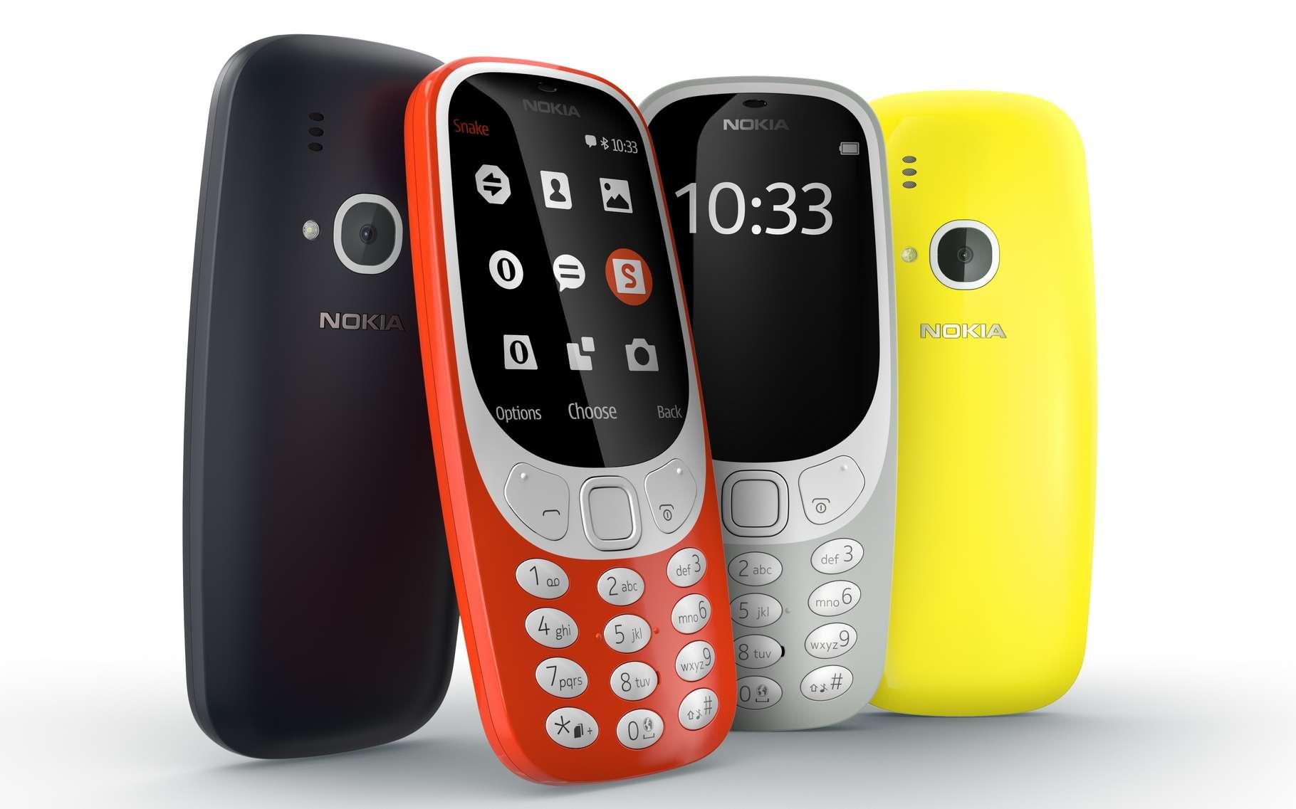 Le Nokia 3310 est au Panthéon des téléphones mobiles pour sa simplicité, sa robustesse et son autonomie record. © Nokia