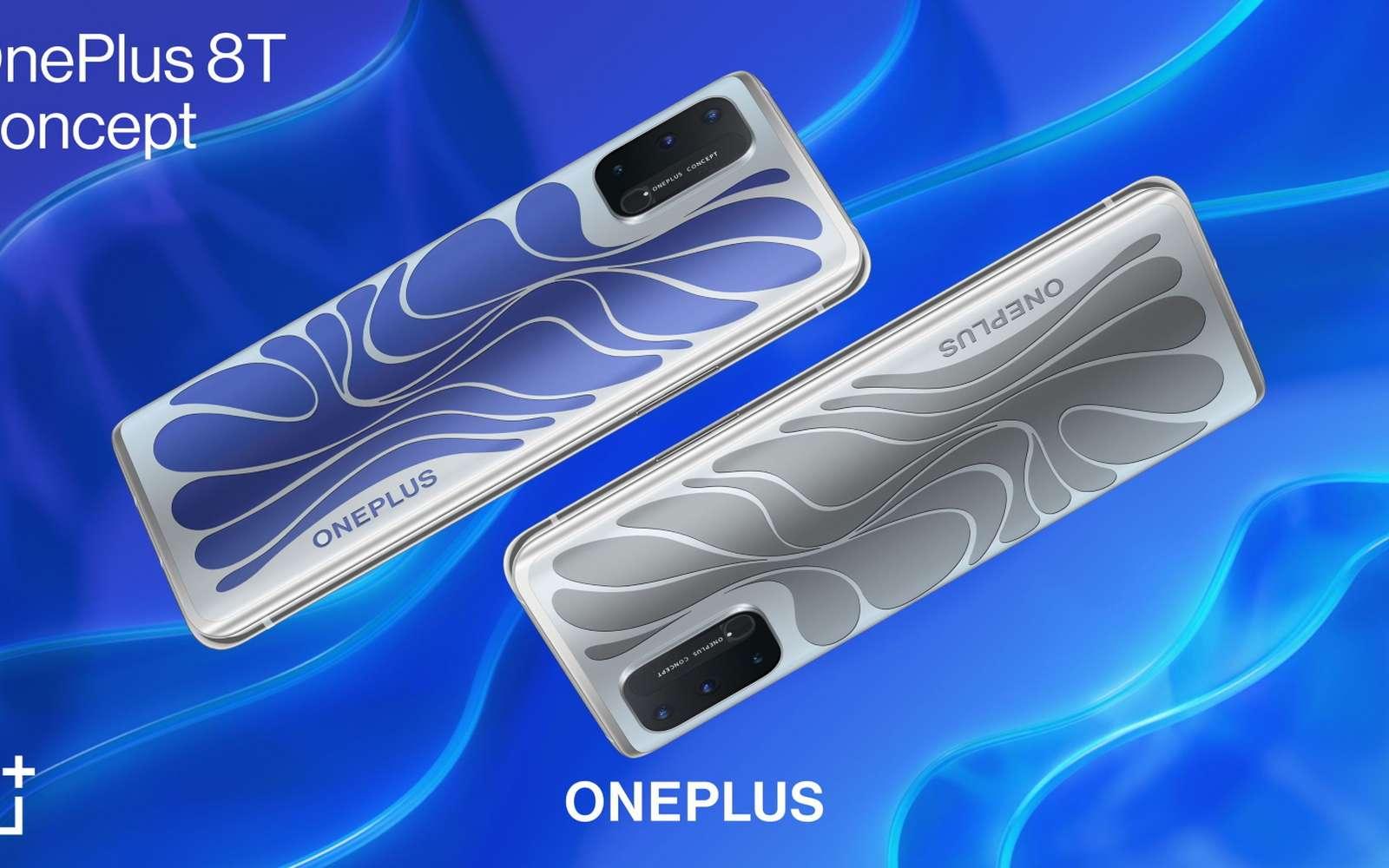 Ce concept de téléphone doté des capacités du caméléon ne verra jamais le jour. © OnePlus