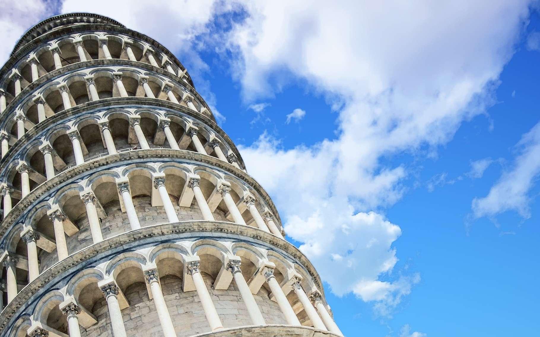 La tour de Pise penche, mais elle sait résister aux tremblements de terre. © TheDigitalArtist, Pixabay, CC0 Creative Commons