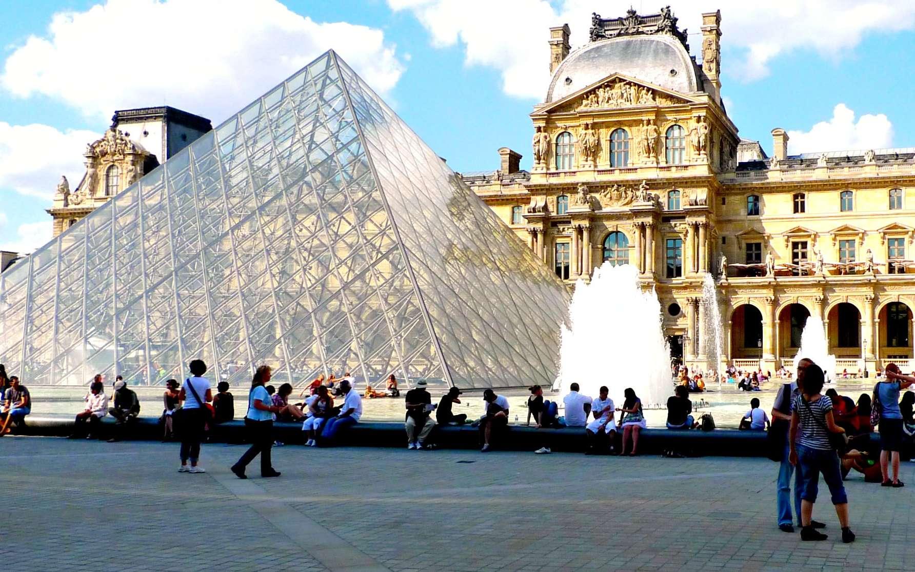 Musée du Louvre à Paris. © zoetnet, Flickr, CC by-sa 2.0