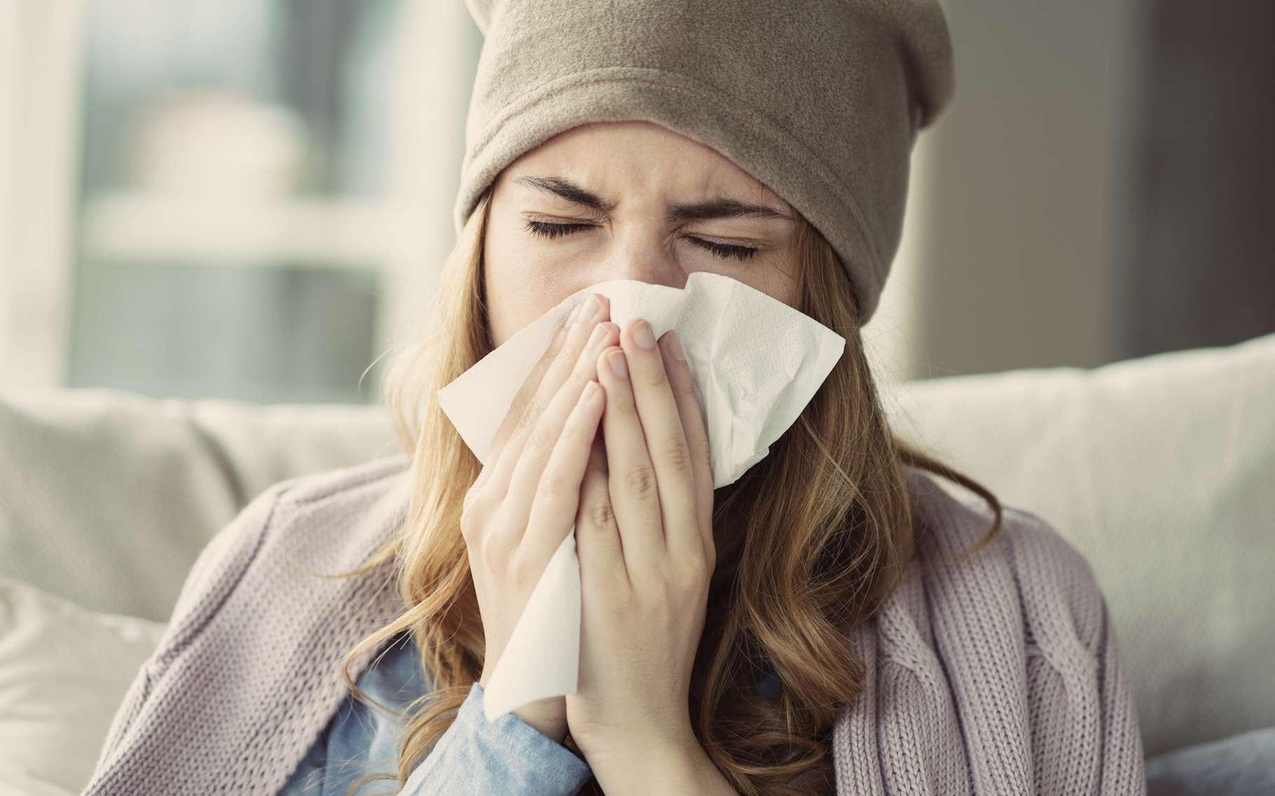 Pour lutter contre le rhume, des chercheurs suggèrent de désactiver une protéine. © sebra, Fotolia