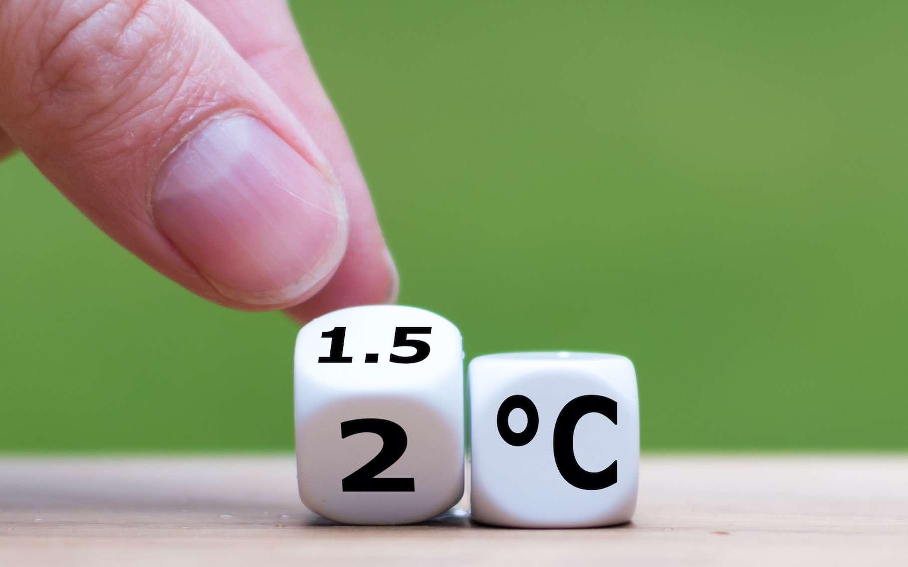 Si dans notre vie quotidienne, nous avons bien du mal à faire la différence entre +1,5 °C et +2,0 °C, lorsqu'il est question de réchauffement climatique, ce demi-degré d'écart prend de l'importance. © Fokussiert, Adobe Stock