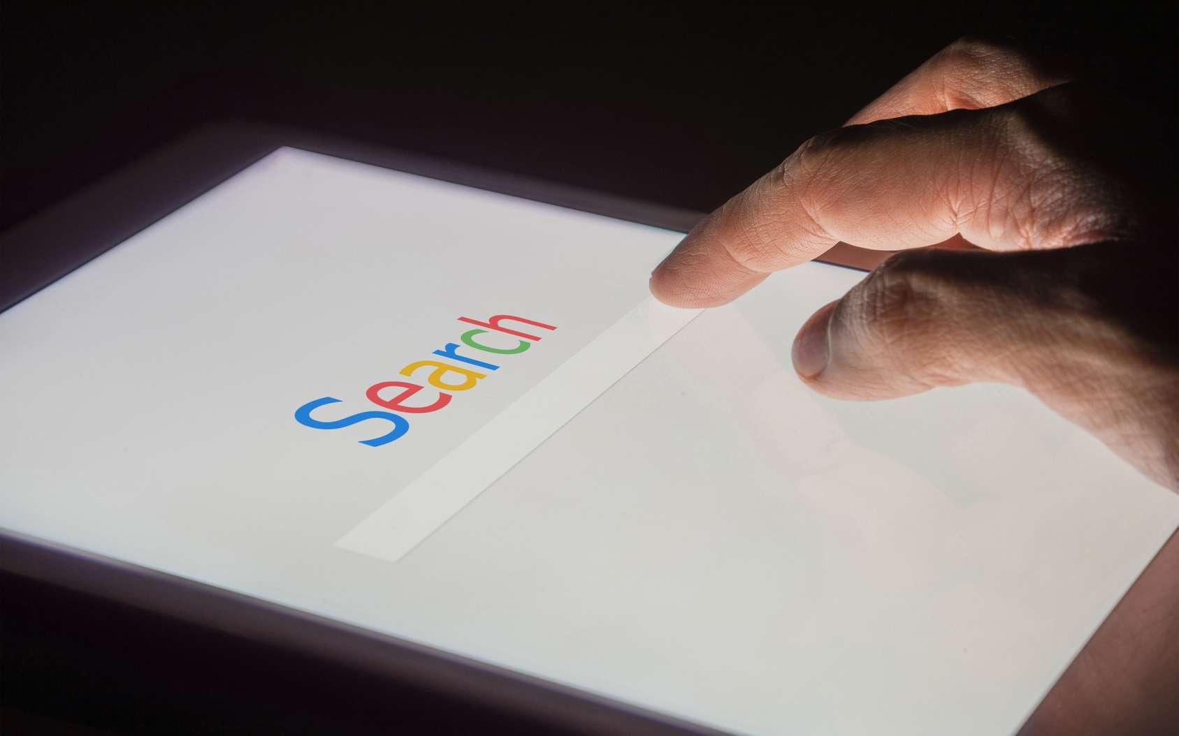 Les recherches sur Google. © silvabom, Fotolia