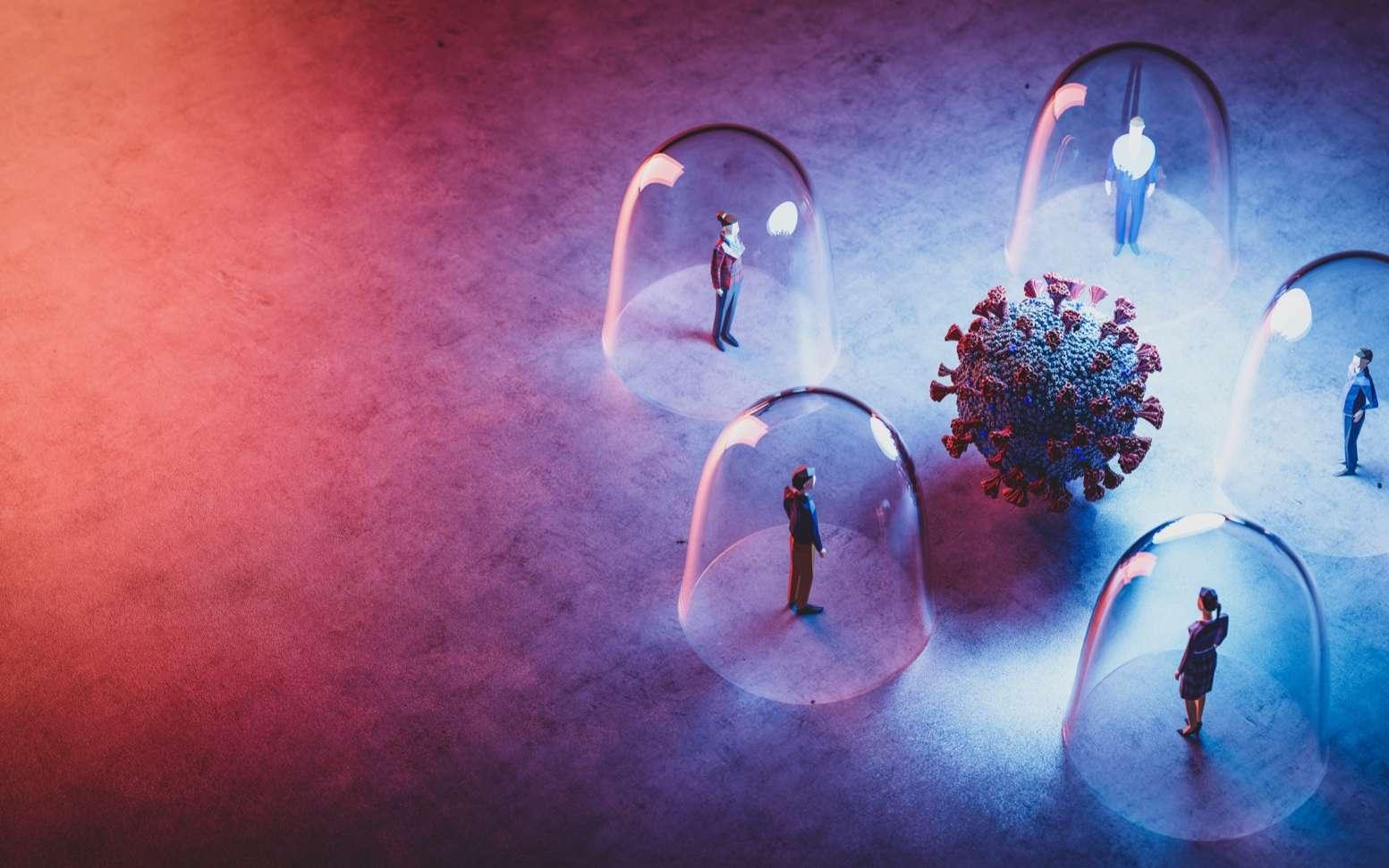 Combien de temps encore avant d'atteindre l'immunité collective ? © Photocreo Bednarek, Adobe Stock