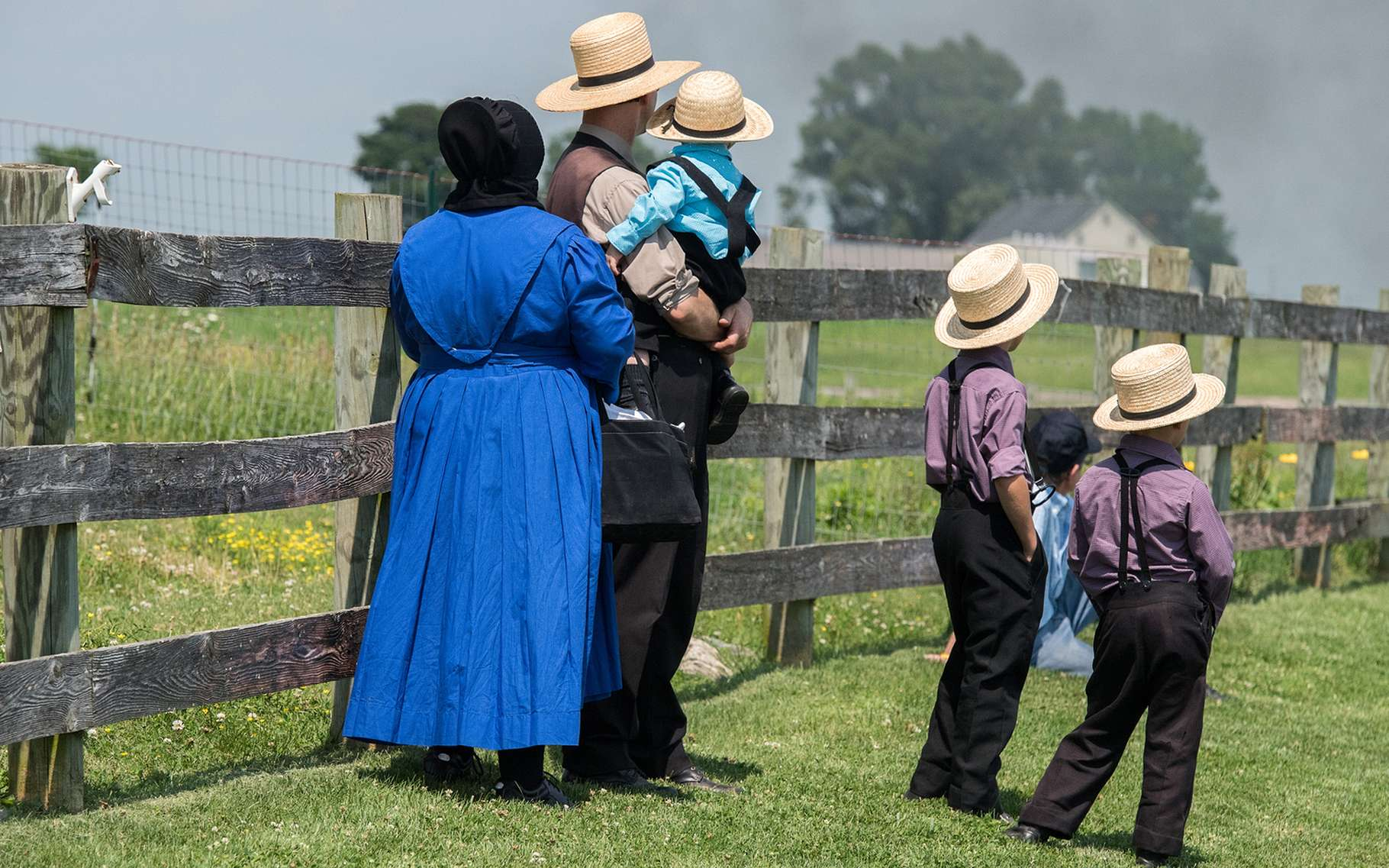 Seuls 5 % des enfants Amish en âge d'être scolarisés ont de l'asthme, soit la moitié de la moyenne nationale américaine. Les enfants Huttérites, eux, connaissent un taux d'asthmatiques inhabituellement élevé, à 21,3 %. La principale raison ? Les poussières dans leurs maisons. © Andrea Izzotti, shutterstock.com