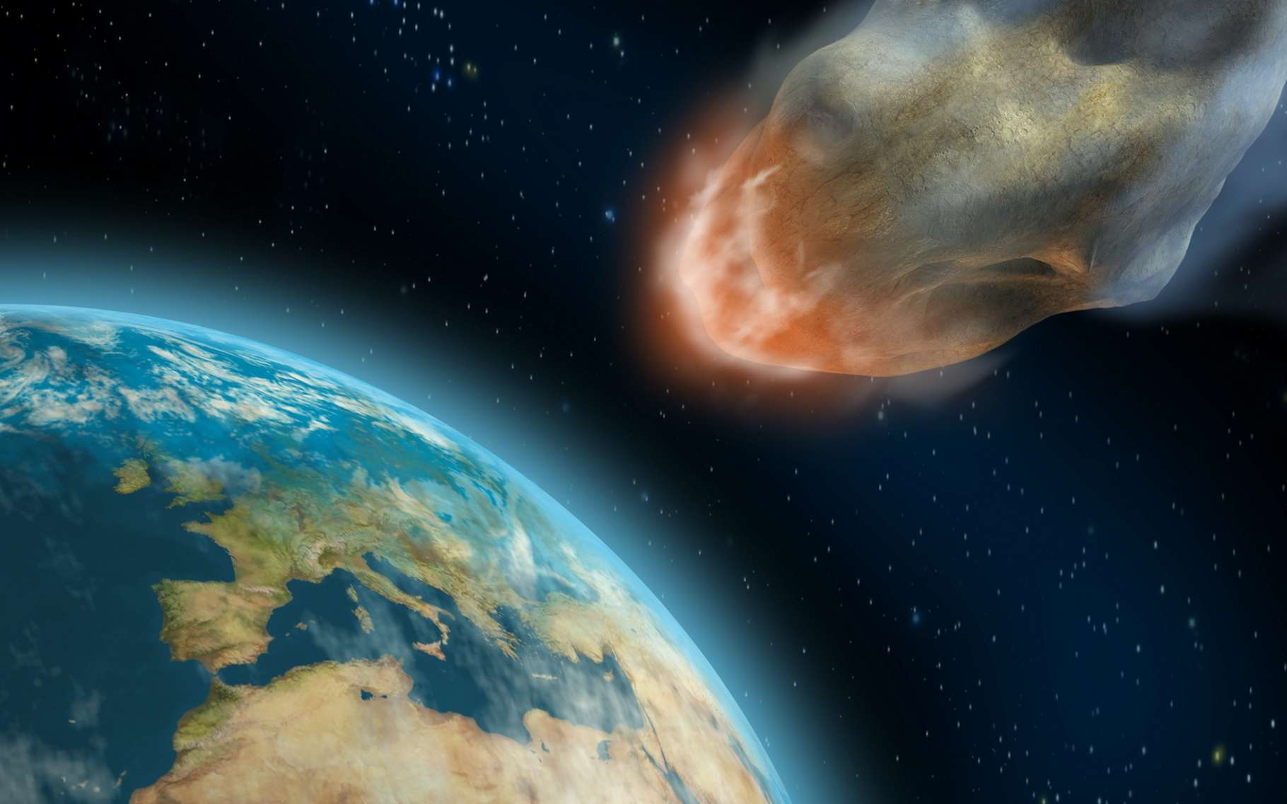À l'occasion de la dernière Planetary Defense Conference, des scientifiques ont participé à un exercice visant à éviter le pire à notre Terre alors qu'un astéroïde la menaçait. Ils ont échoué. © Andrea Danti, Adobe Stock