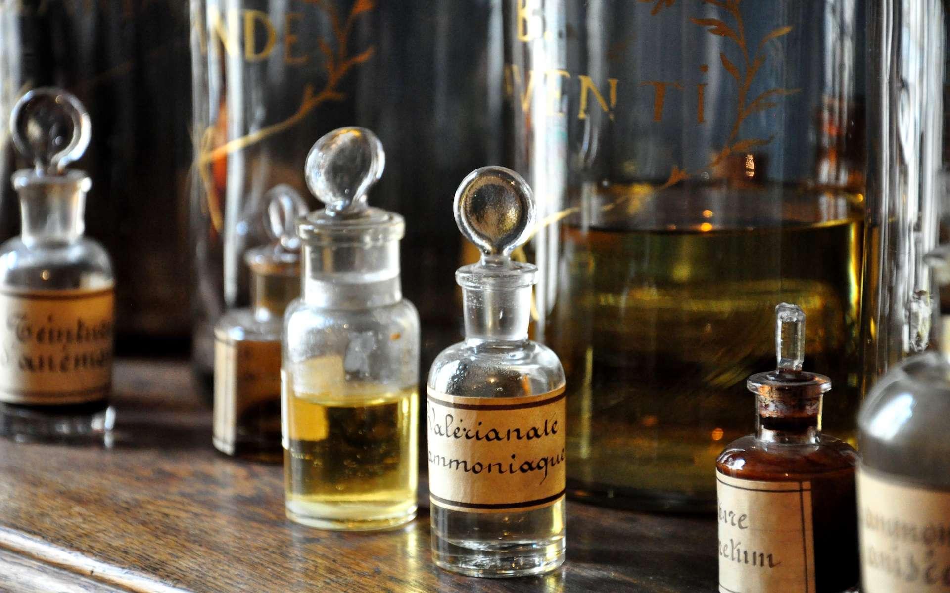 On retrouve le cation ammonium dans les préparations d'ammoniaque. © Damien Pobel, Flickr, CC by-sa 2.0