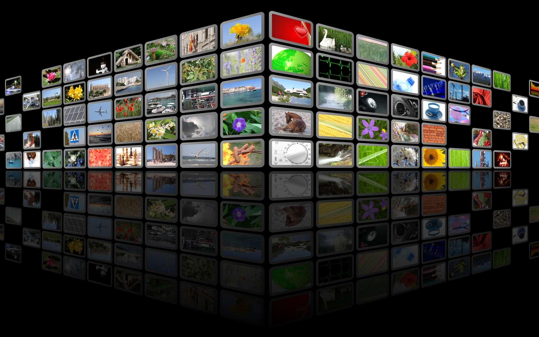 Netflix est un service Internet de vidéo à la demande (VOD) en diffusion continue (streaming). © Alex White, Fotolia