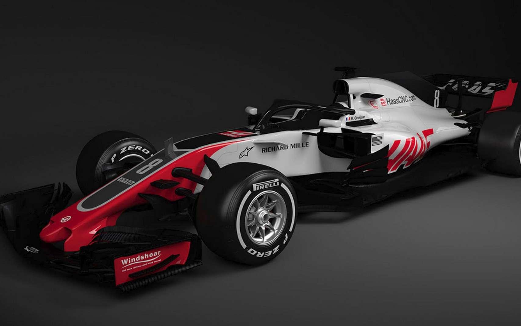 L'écurie Haas F1 utilisera le supercalculateur Cray CS500 pour travailler sur l'aérodynamique de ses futures monoplaces. © Haas F1