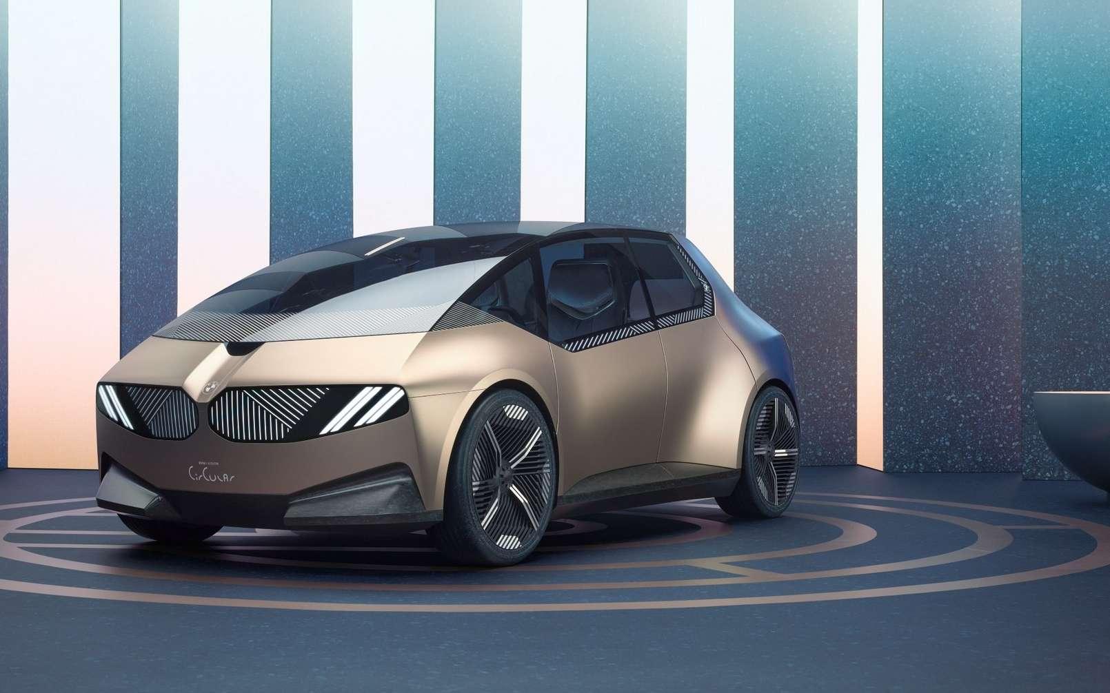 La BMW i Vision Circular dévoilée au salon IAA Mobility de Munich. © BMW