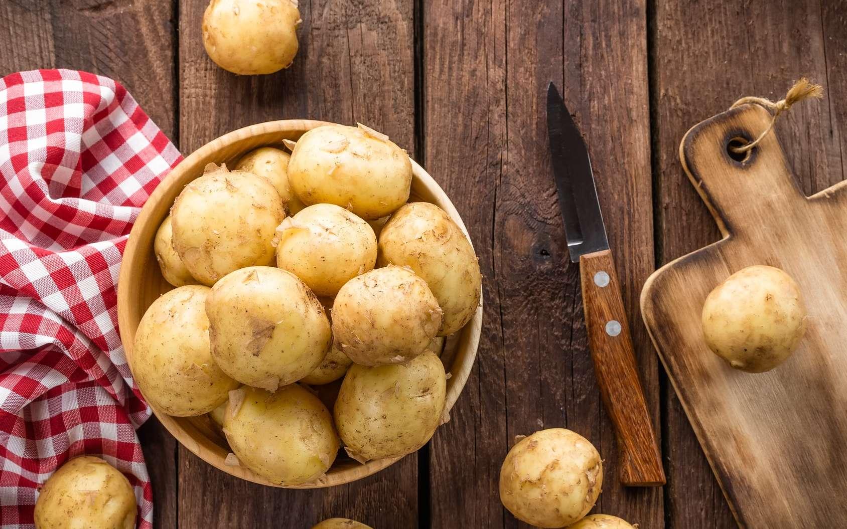 La pomme de terre est un féculent ; ses tubercules servent à fabriquer de la fécule de pomme de terre, riche en amidon. © Sea Wave, Fotolia
