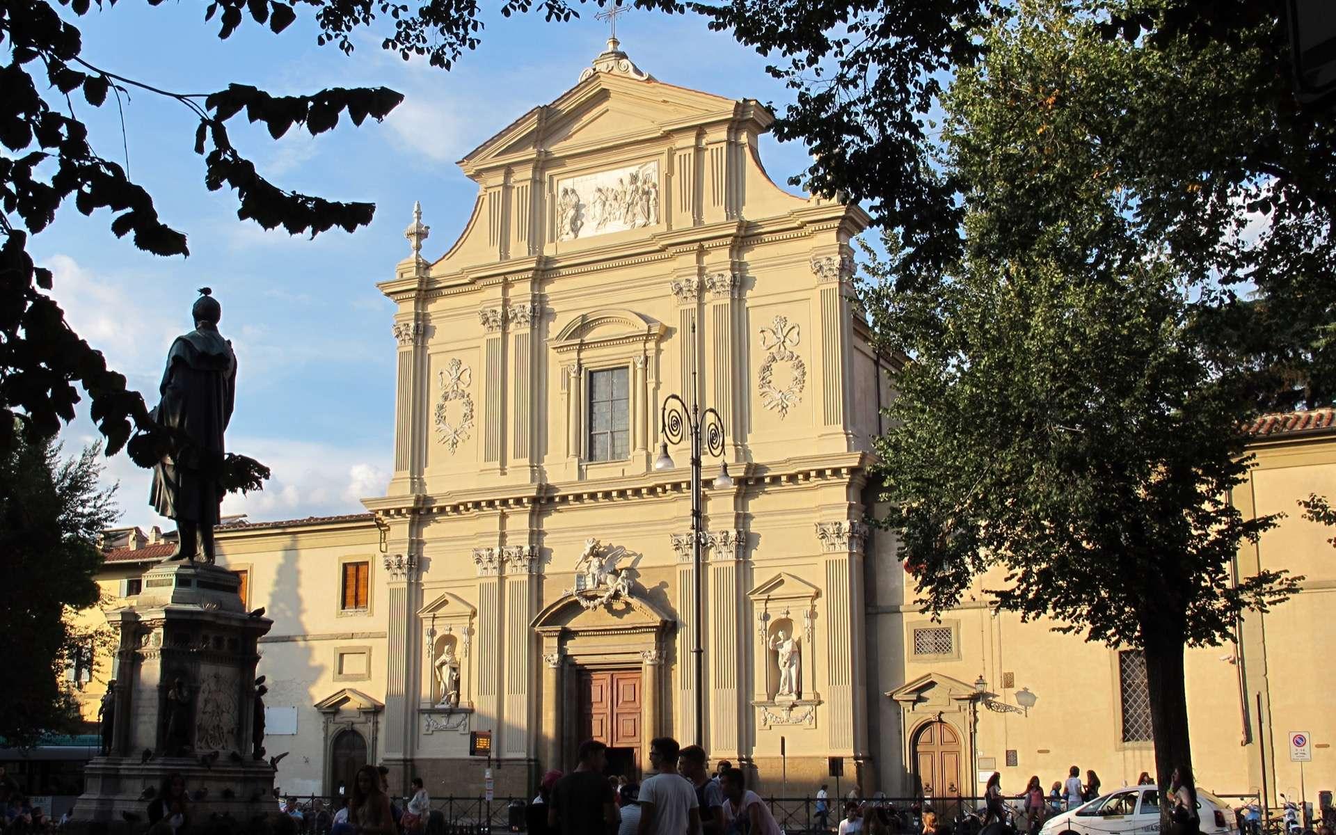 Le couvent est la partie muséale de cet ensemble de bâtiments religieux situé sur la place San Marco, à Florence. © Sailko, Creative Commons, by-sa 3.0