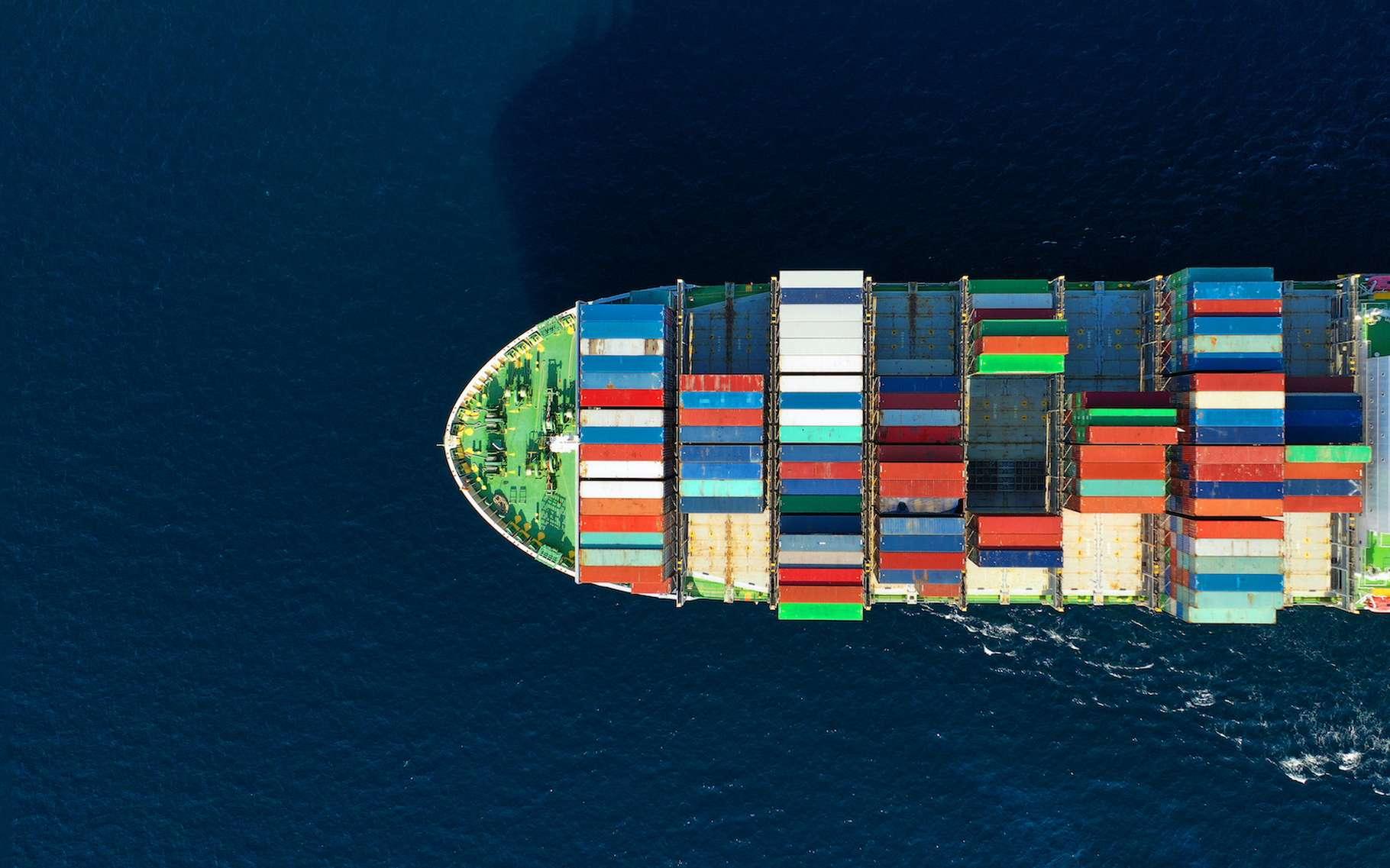 L'hydrogène révolutionnera-t-il le transport maritime ? © aerial-drone, Adobe Stock