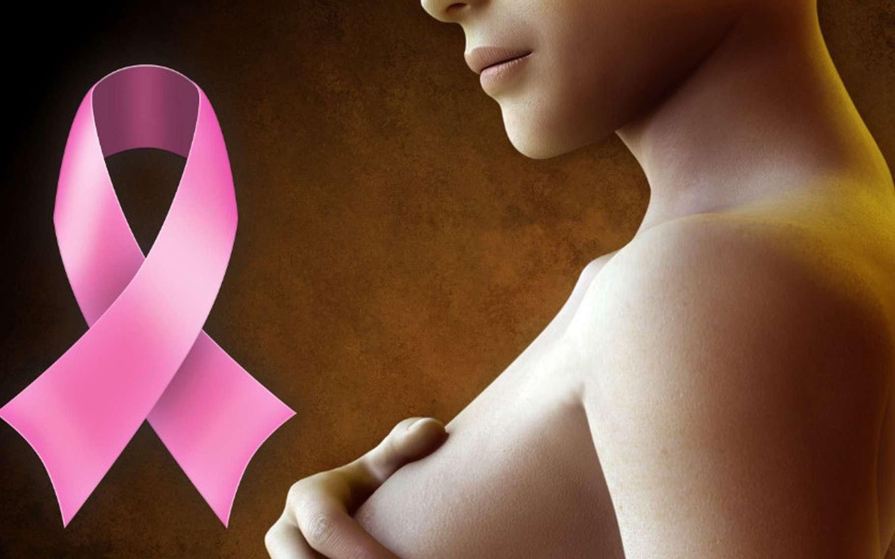 Le Palbociclib est un nouveau médicament oral efficace dans la lutte contre le cancer du sein. La petite molécule inhibitrice de deux protéines qui le compose a été autorisée aux États-Unis en 2015 et devrait l'être en France en 2016, étant donné les excellents résultats des études cliniques. © DR