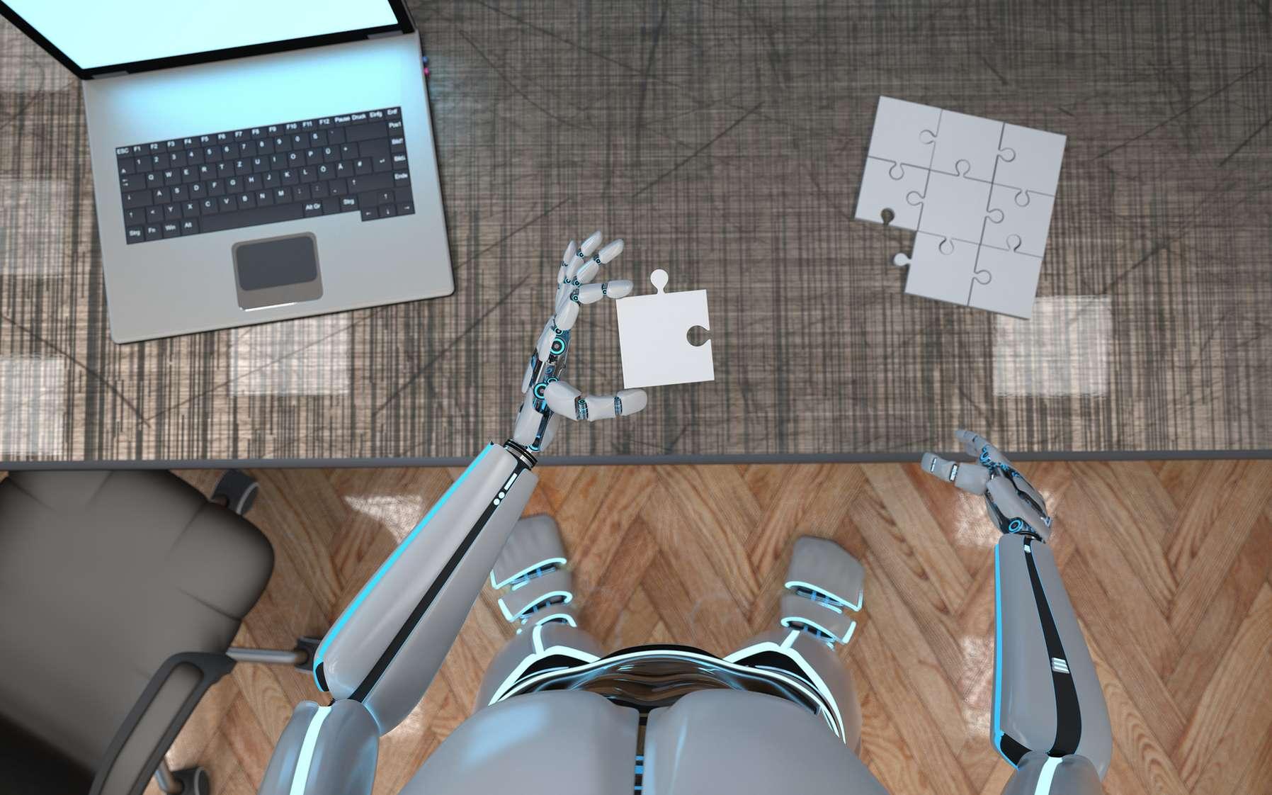 L'apprentissage des conventions sociales par les robots est un domaine encore peu exploré mais pourtant crucial au développement de la cobotique. © Alexander Limbach, Fotolia