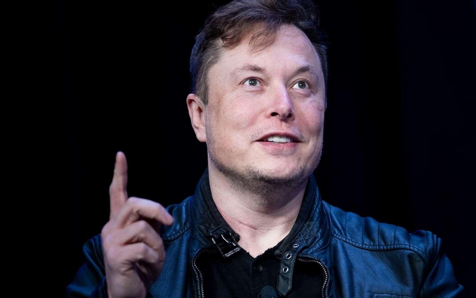 Elon Musk s'est employé à balayer les craintes des autorités chinoises concernant les risques d'espionnage par le truchement des Tesla. © Brendan Smialowski / AFP