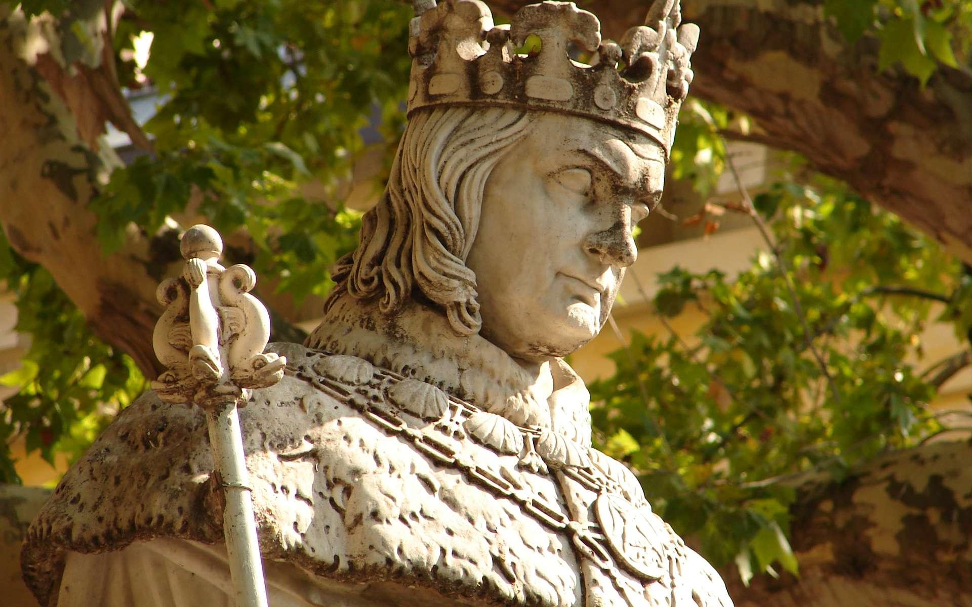 Les rois du Moyen Âge ont contribué à l'essor du pays. © Paul-Henri Giraud, Wikimedia Commons, Domaine public