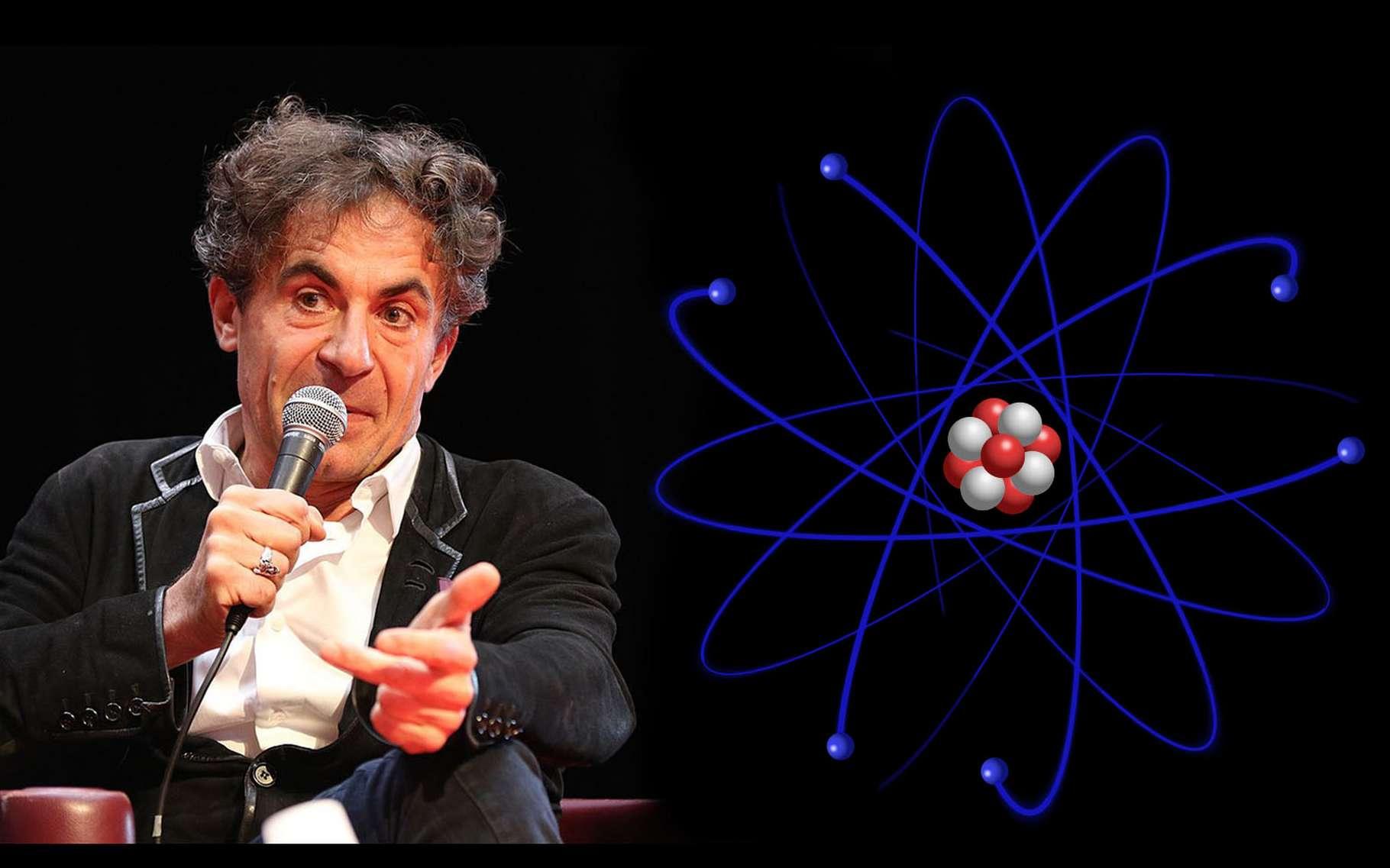 Le physicien Étienne Klein du CEA. © DR