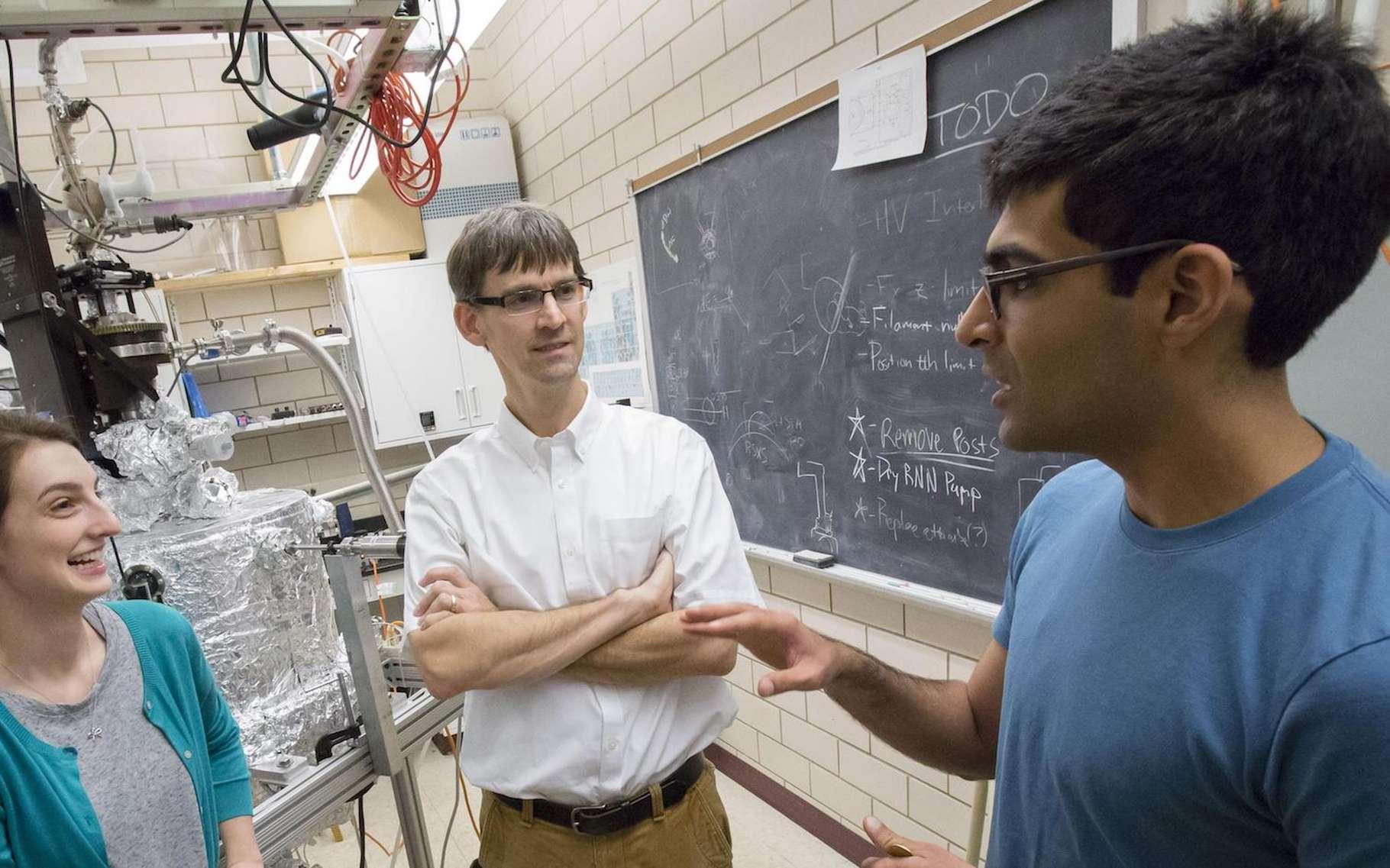Des chercheurs américains de l'université de l'Illinois annoncent la découverte d'une nouvelle forme de matière : l'excitonium, un condensat d'excitons! © L. Brian Stauffer, University of Illinois at Urbana-Champaign
