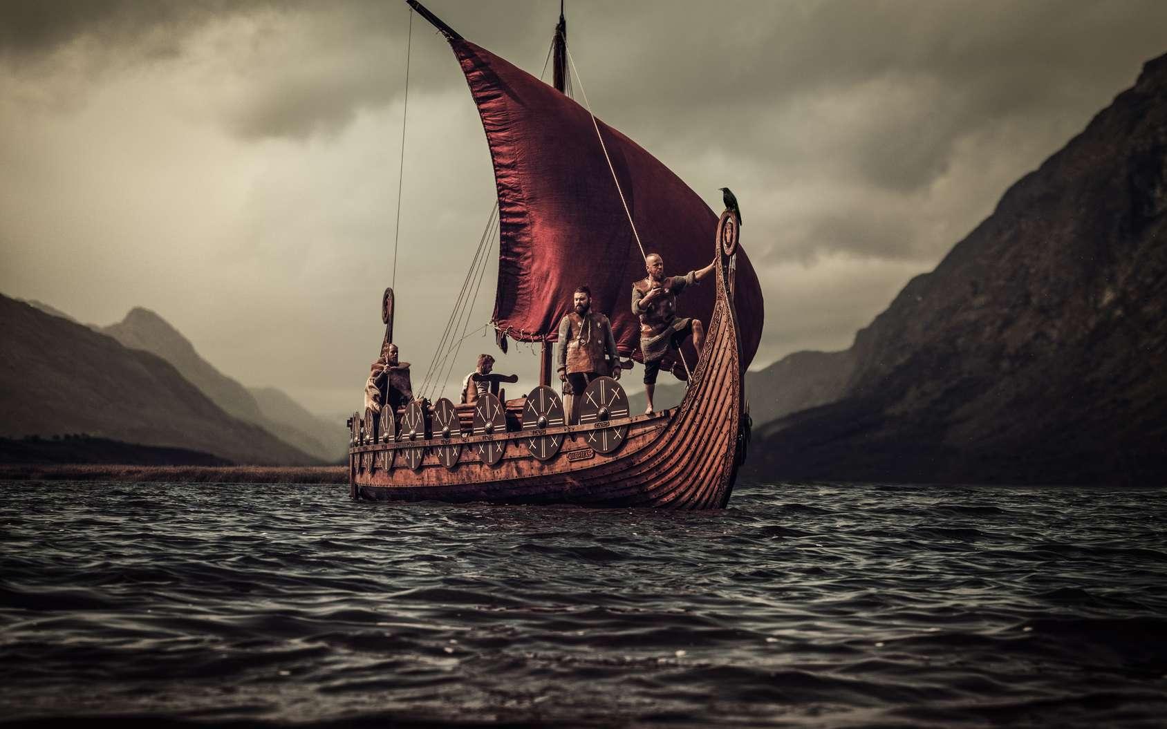 Un grand bateau a été découvert dans une sépulture viking. © Nejron Photo, Fotolia