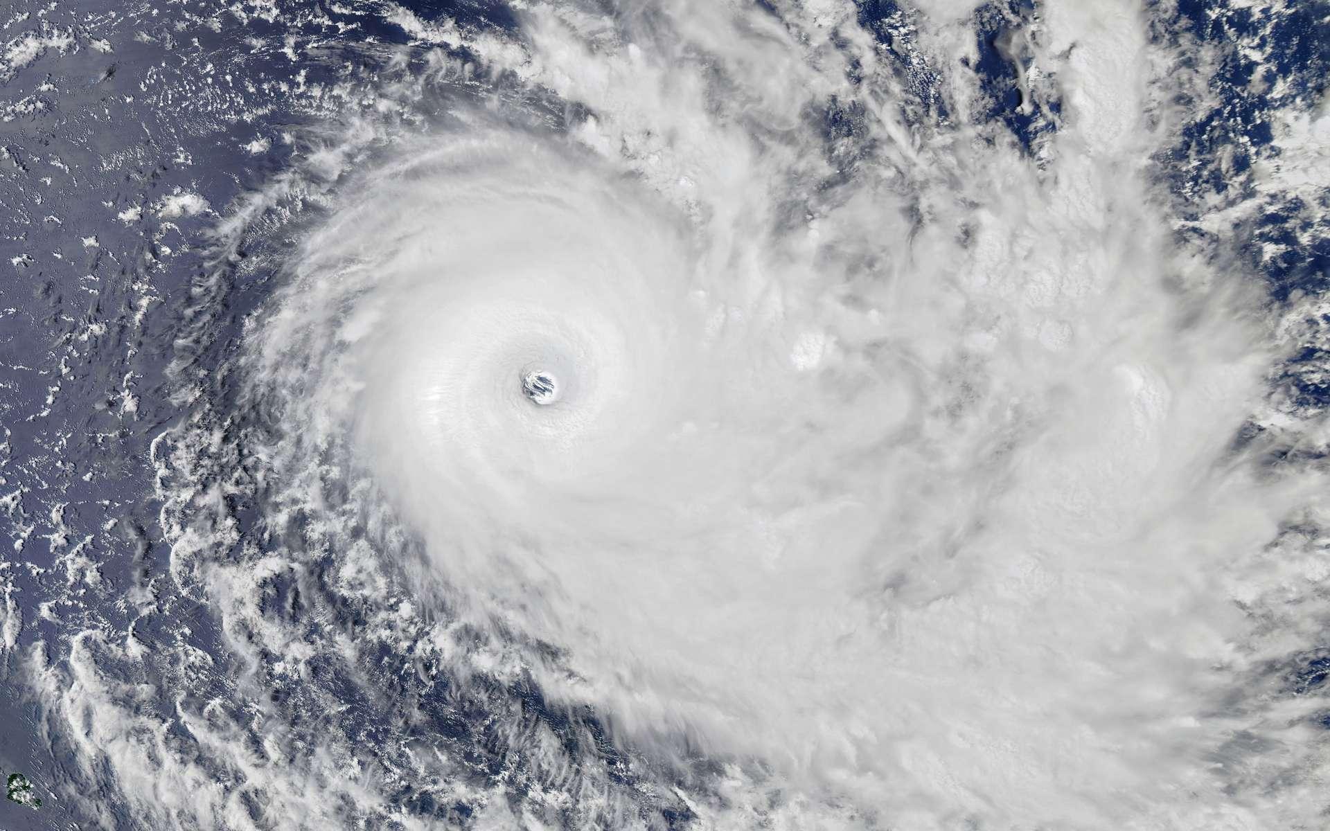 Le monstrueux cyclon Yasa, le 16 décembre 2020, photographié par le satellite Aqua de la Nasa. © Nasa