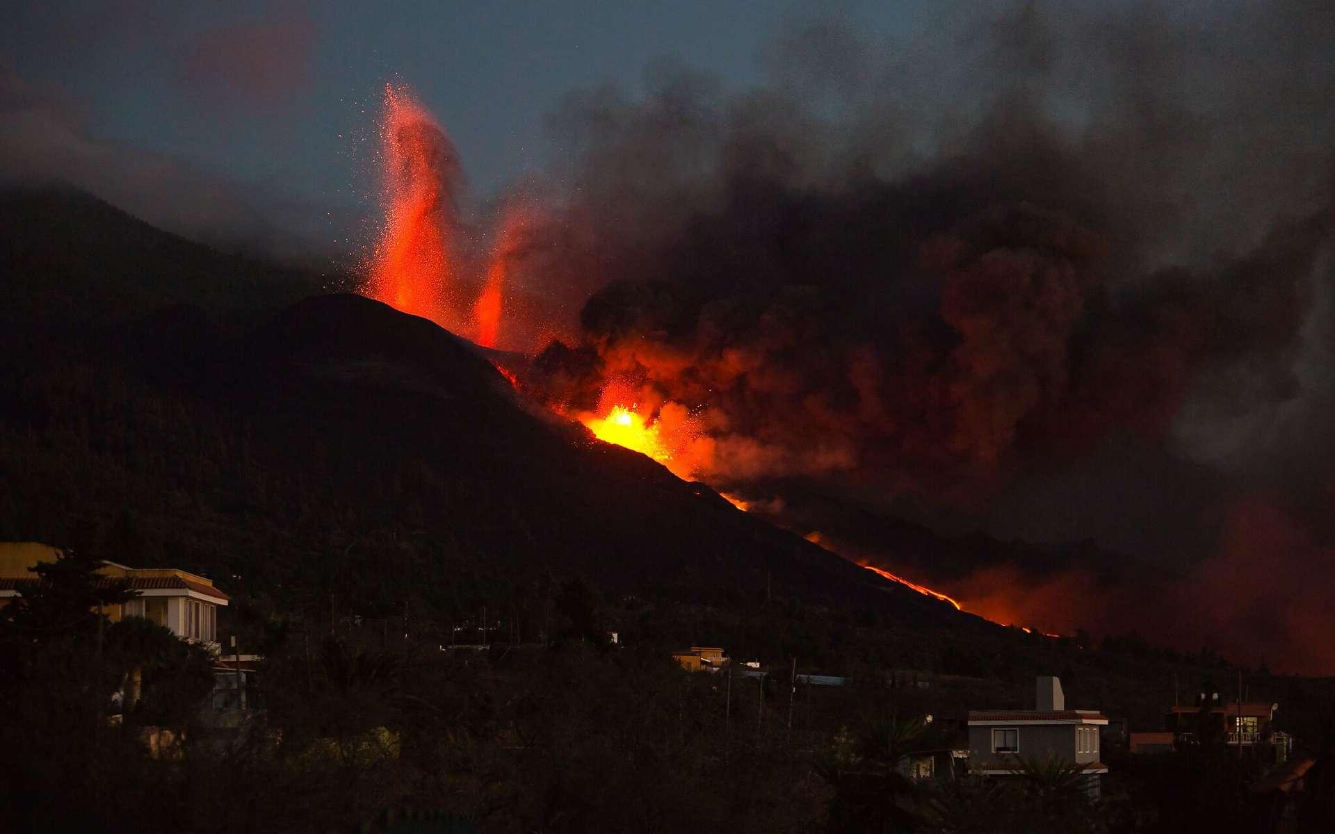 Éruption du Cumbre Vieja. © vinx76, Flickr