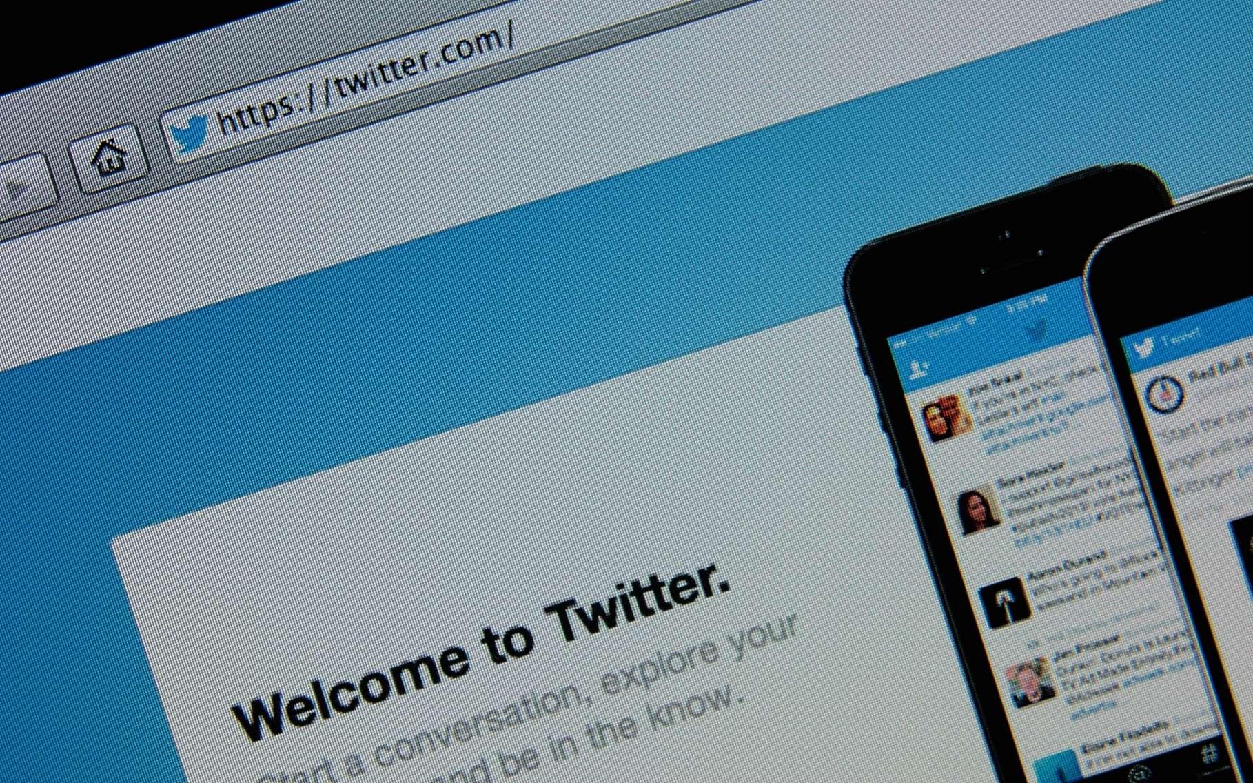 S'inscrire sur Twitter ne prend que quelques instants. © Gil C, Shutterstock
