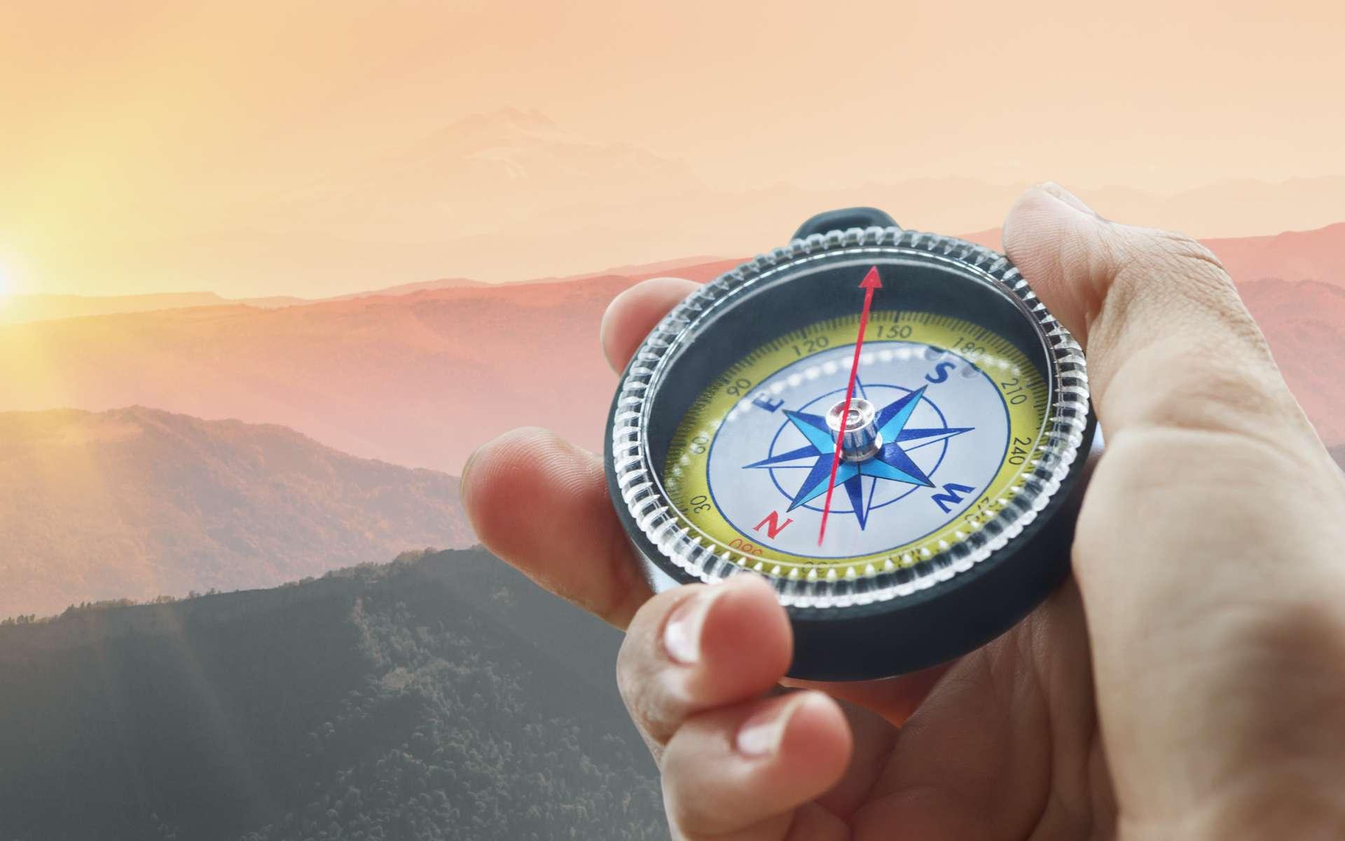 La boussole est une invention chinoise. La première utilisation en tant qu'instrument de navigation date probablement du XIe siècle après J.-C. © andreusK, Fotolia