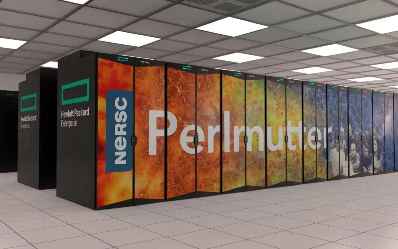 Perlmutter est le supercalculateur équipé du plus grand nombre de GPU A110 de Nvidia au monde. © Nvidia