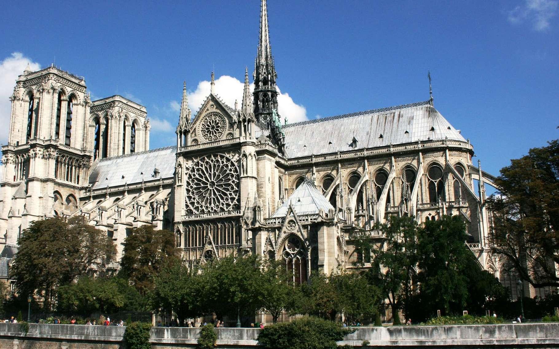 La construction de Notre-Dame de Paris débuta en 1163. © 139904, Pixabay, DP