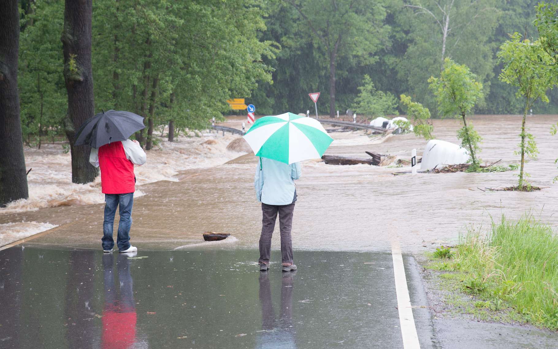 En juillet 2021, l'Allemagne et la Belgique ont été touchées par de graves inondations. Les chercheurs affirment que le réchauffement climatique rend le risque que cela se reproduise plus important. Ici, une image d'illustration datant de 2013. © stylefoto24, Adobe Stock