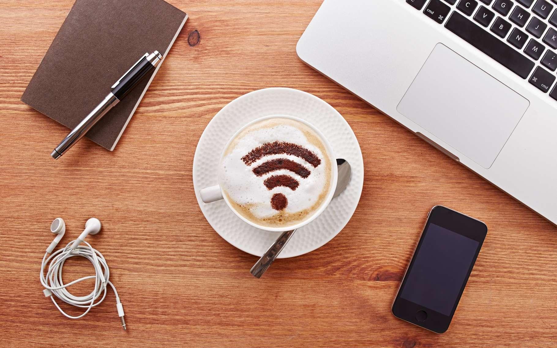 En mesurant l'azimuth reçu d'un mobile en Wi-Fi et en déterminant sa distance, Chronos, inventé au MIT, permet à un routeur, à peine modifié, de le localiser avec précision. © Martiapunts, Shutterstock