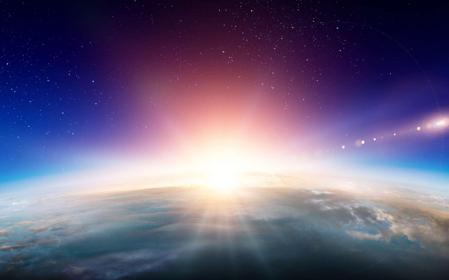 L'atmosphère de Gliese 3470 b est étonnamment composée essentiellement d'hélium et d'hydrogène. © Sergey Nivens, Fotolia