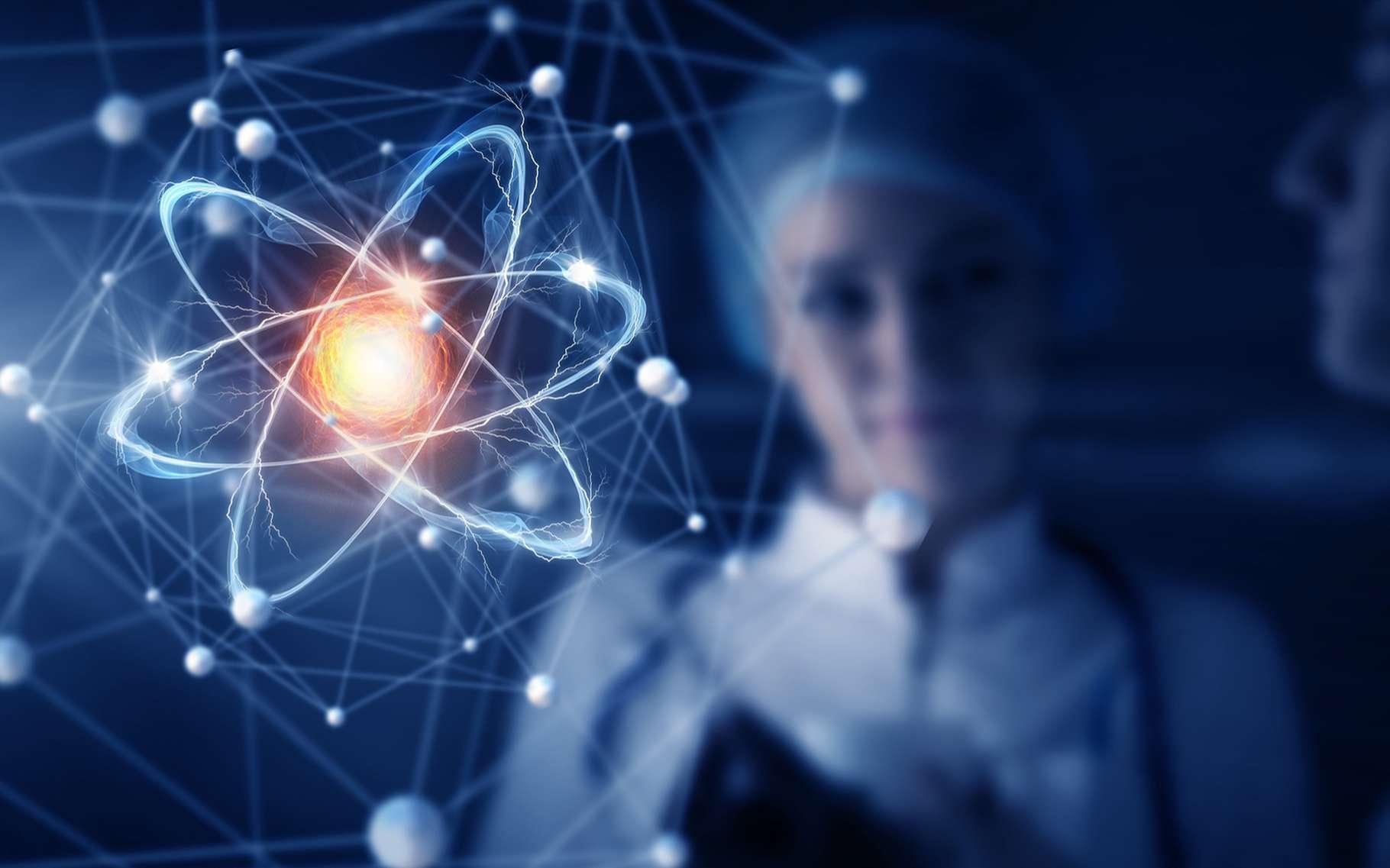 Jim LeBeau, un nom prédestiné pour un physicien qui souhaite montrer au public la splendeur des atomes qui constituent le monde. © Sergey Nivens, Shutterstock