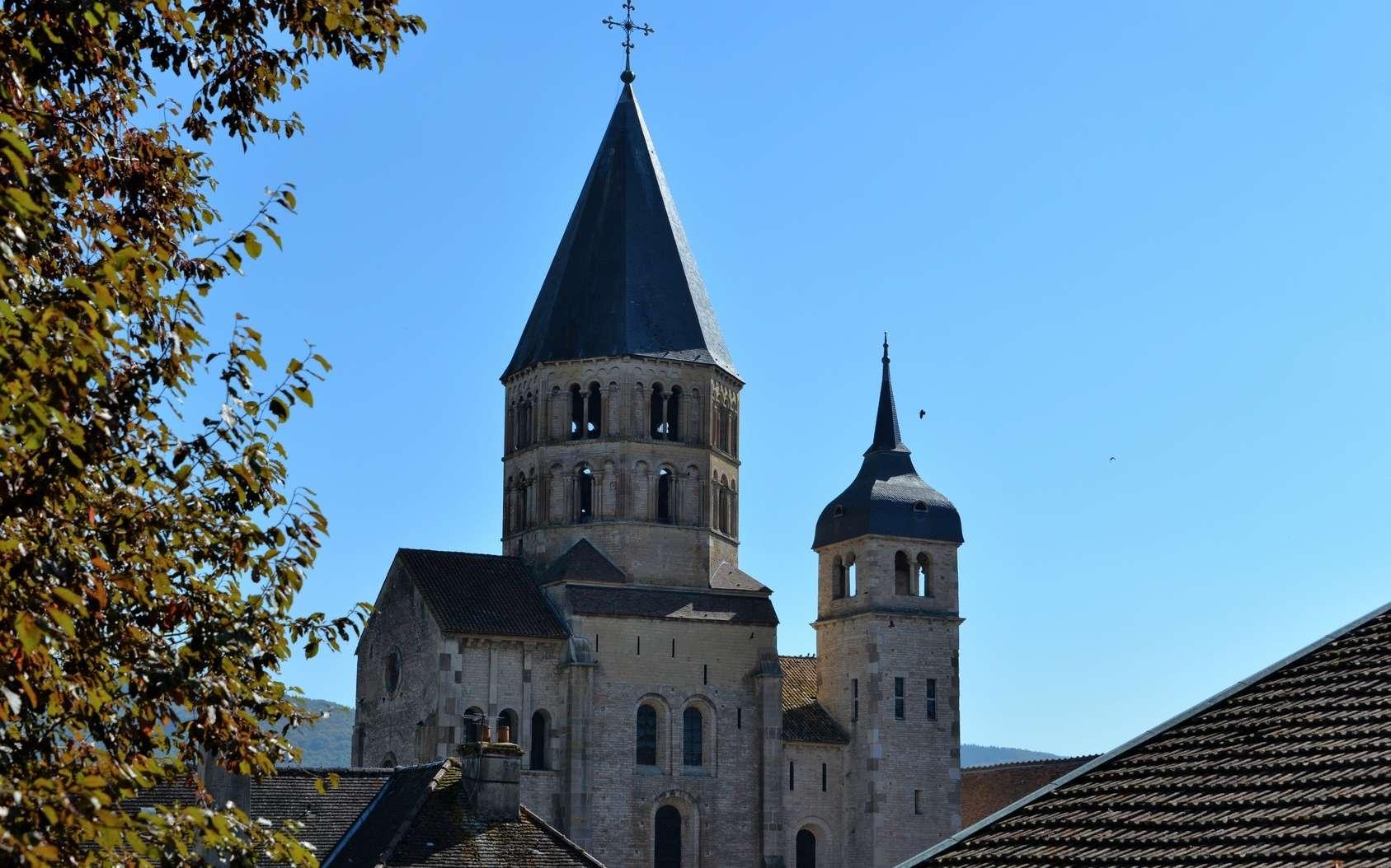 L'abbaye de Cluny se trouve en Saône-et-Loire. © Poiseau Philippe, Fotolia