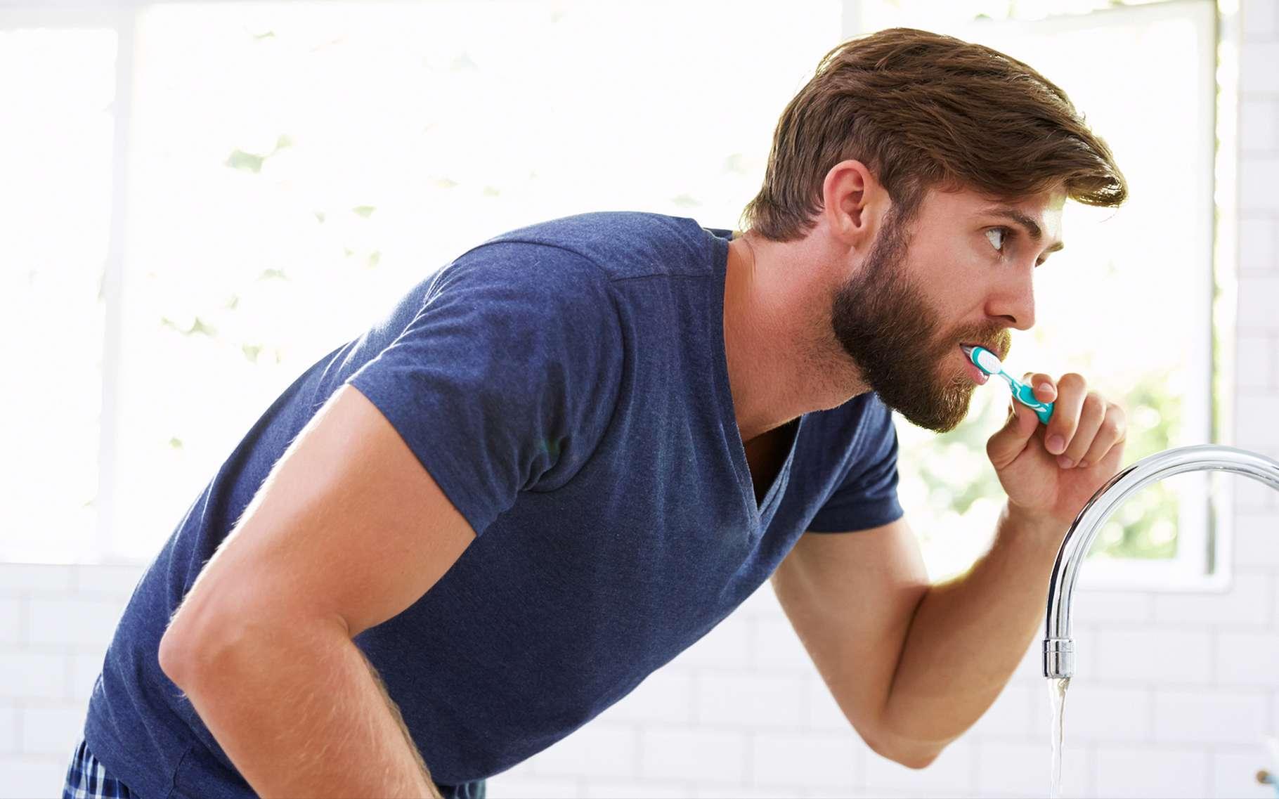 L'hygiène bucco-dentaire reste la meilleure prévention contre l'halitose, ou mauvaise haleine. © Monkey Business Images, Shutterstock