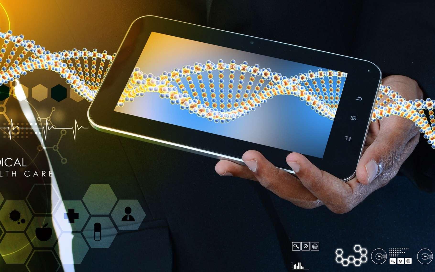 La puissance des smartphones ouvre des possibilités inédites en matière de diagnostic biomédical de terrain. © Cutimage, Fotolia