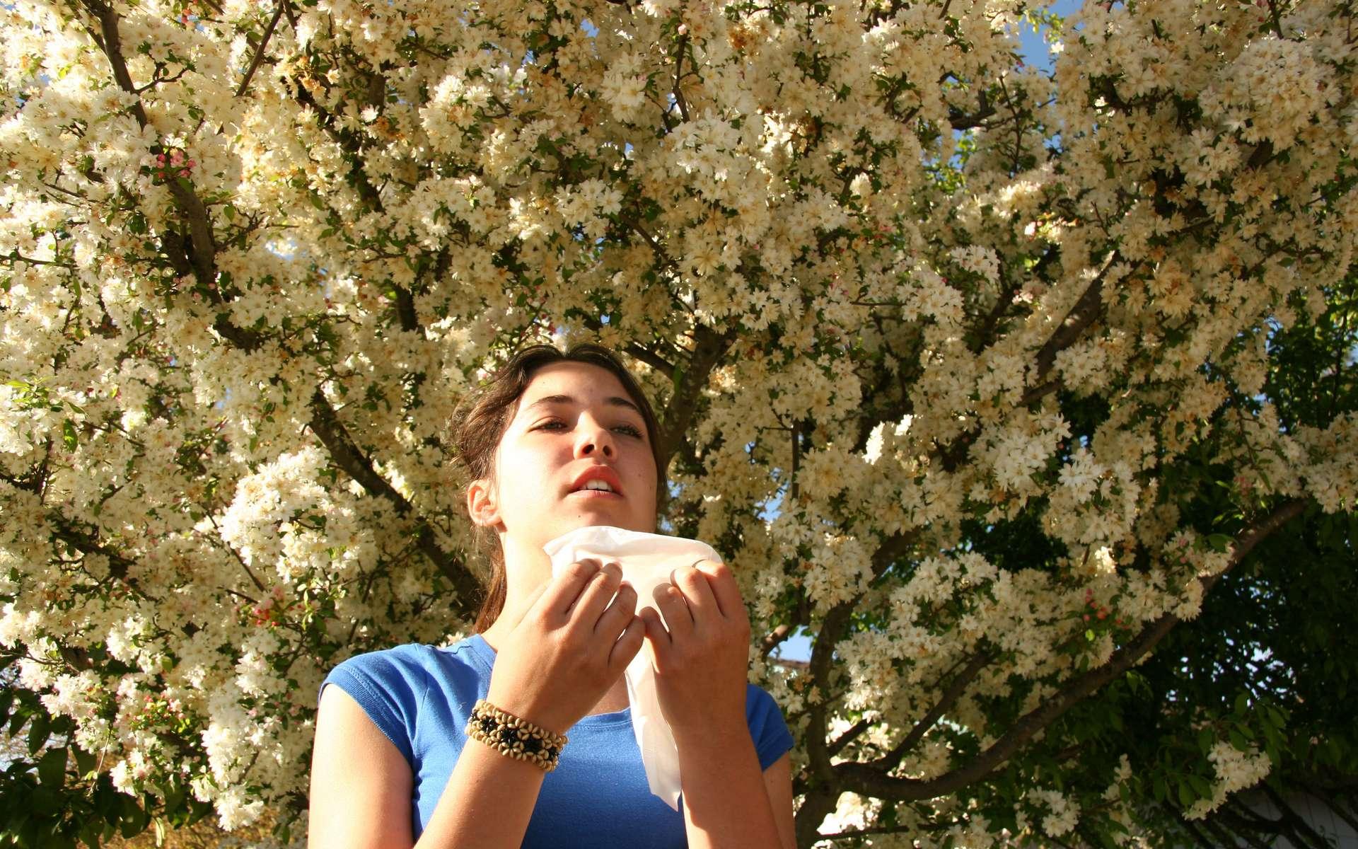 La nature aussi est source d'allergie - Crédit photo cathy stancil - Fotolia