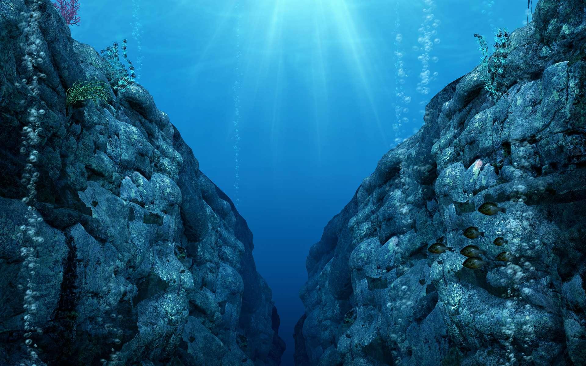 Au cœur de la croûte océanique inférieure, des chercheurs ont décelé de nombreux micro-organismes. © Ratpack223, Adobe Stock