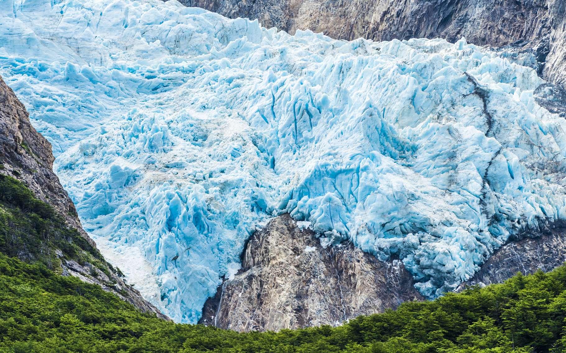 Au cœur du Parc national de Los Glaciares, en Argentine, les glaciers pourraient enregistrer une perte de 60 % de leur volume de glace actuel. © Fyle, Fotolia
