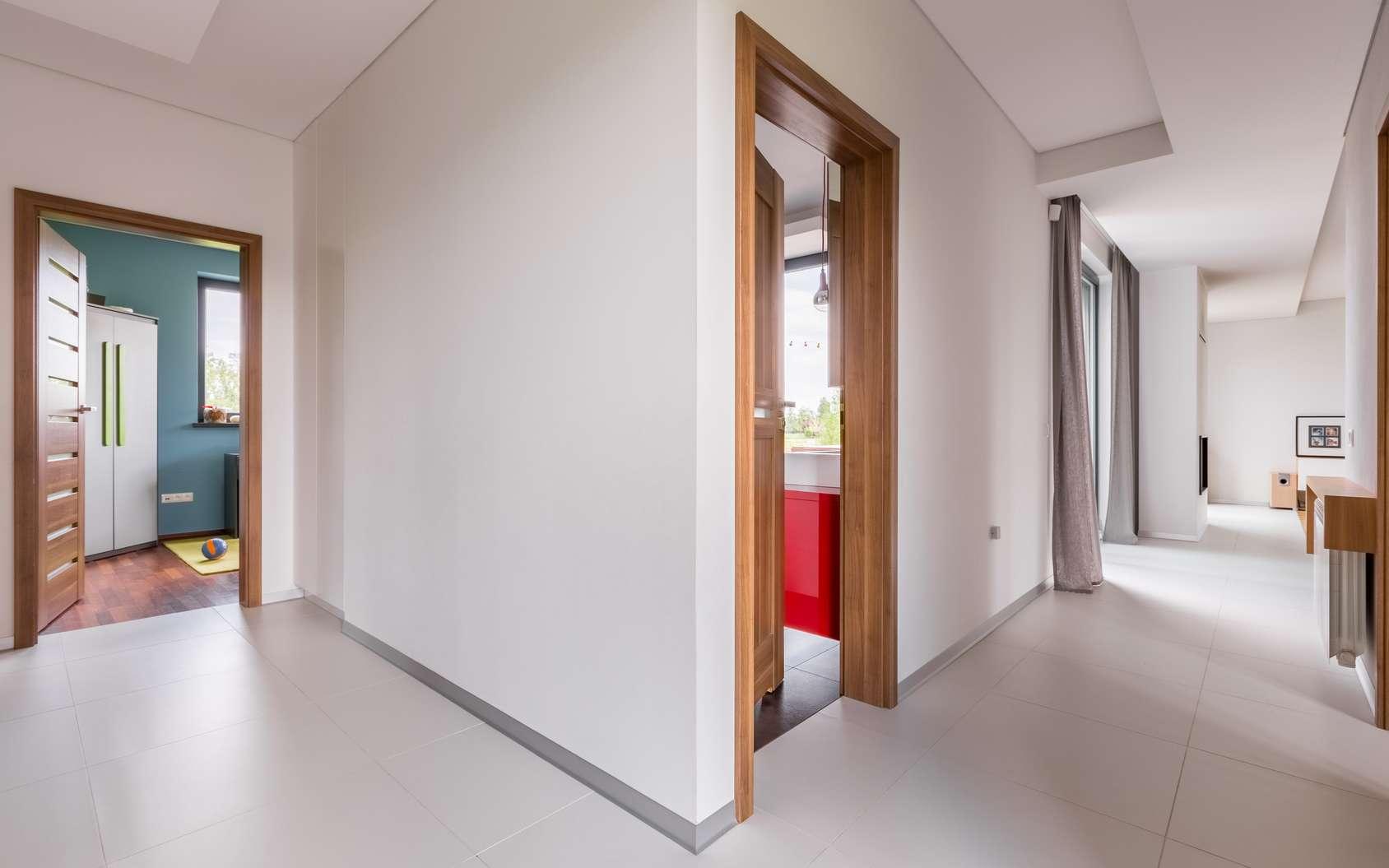 Un bloc porte acoustique, du confort dans la maison ! © Fotolia