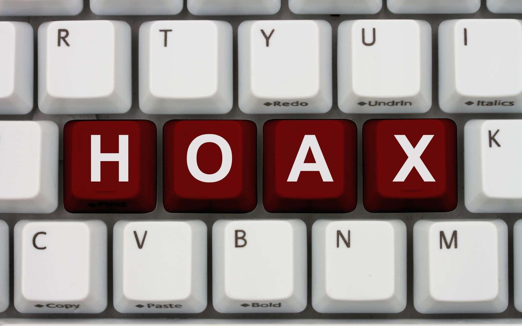 Un hoax, ou canular informatique, se propage le plus souvent via le courrier électronique ou les réseaux sociaux. © Karen Roach, Shutterstock