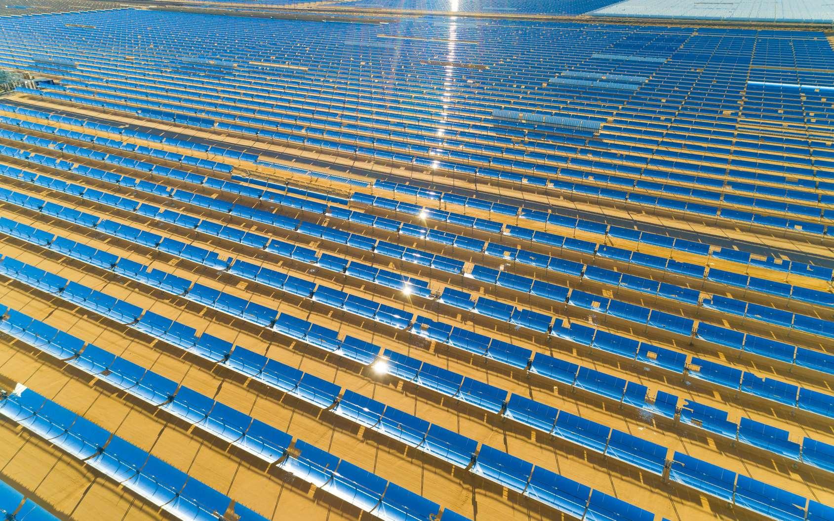 La Chine détient un quart des capacités solaires installées dans le monde. © Newport Coast Media, Fotolia